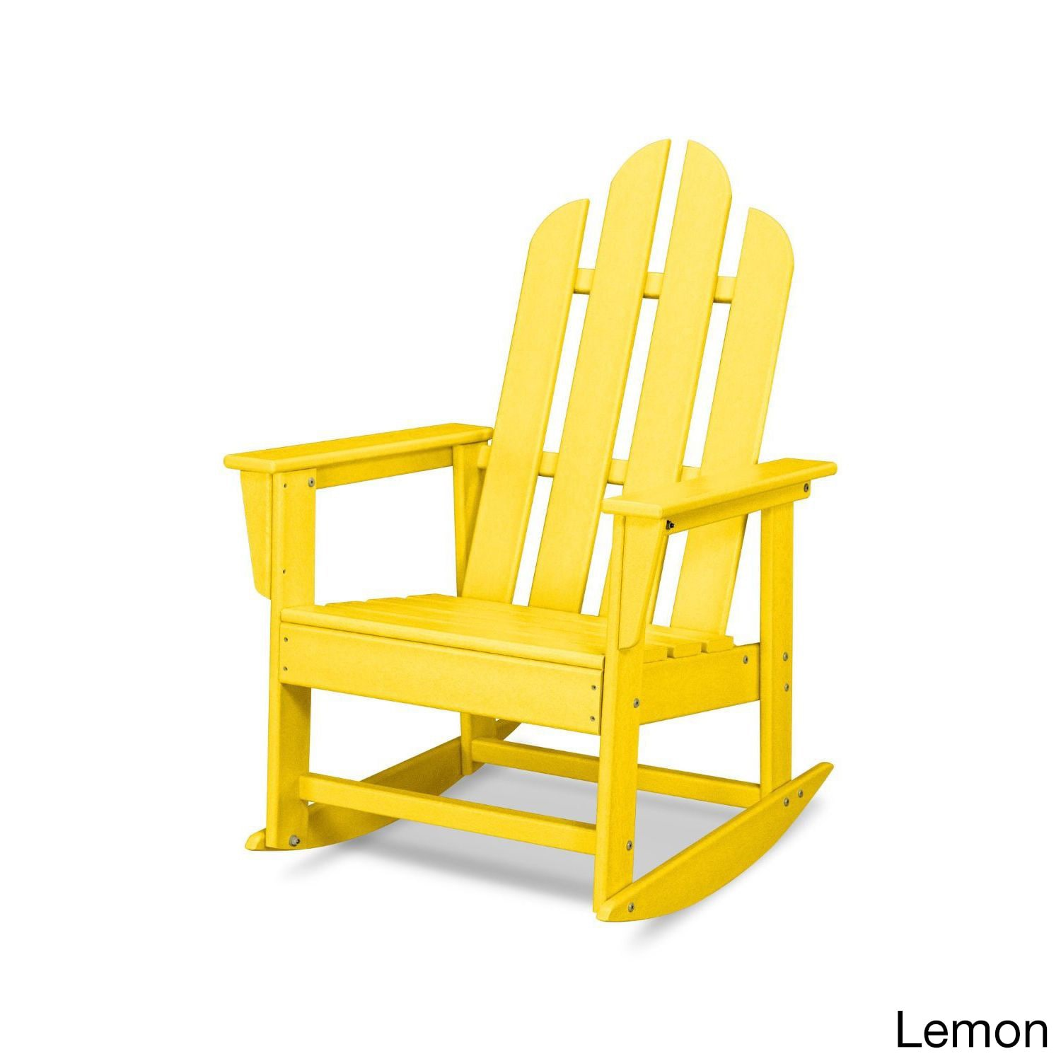 Polywood Long Island Outdoor Rocking Chair Free Shipping Today 13928563