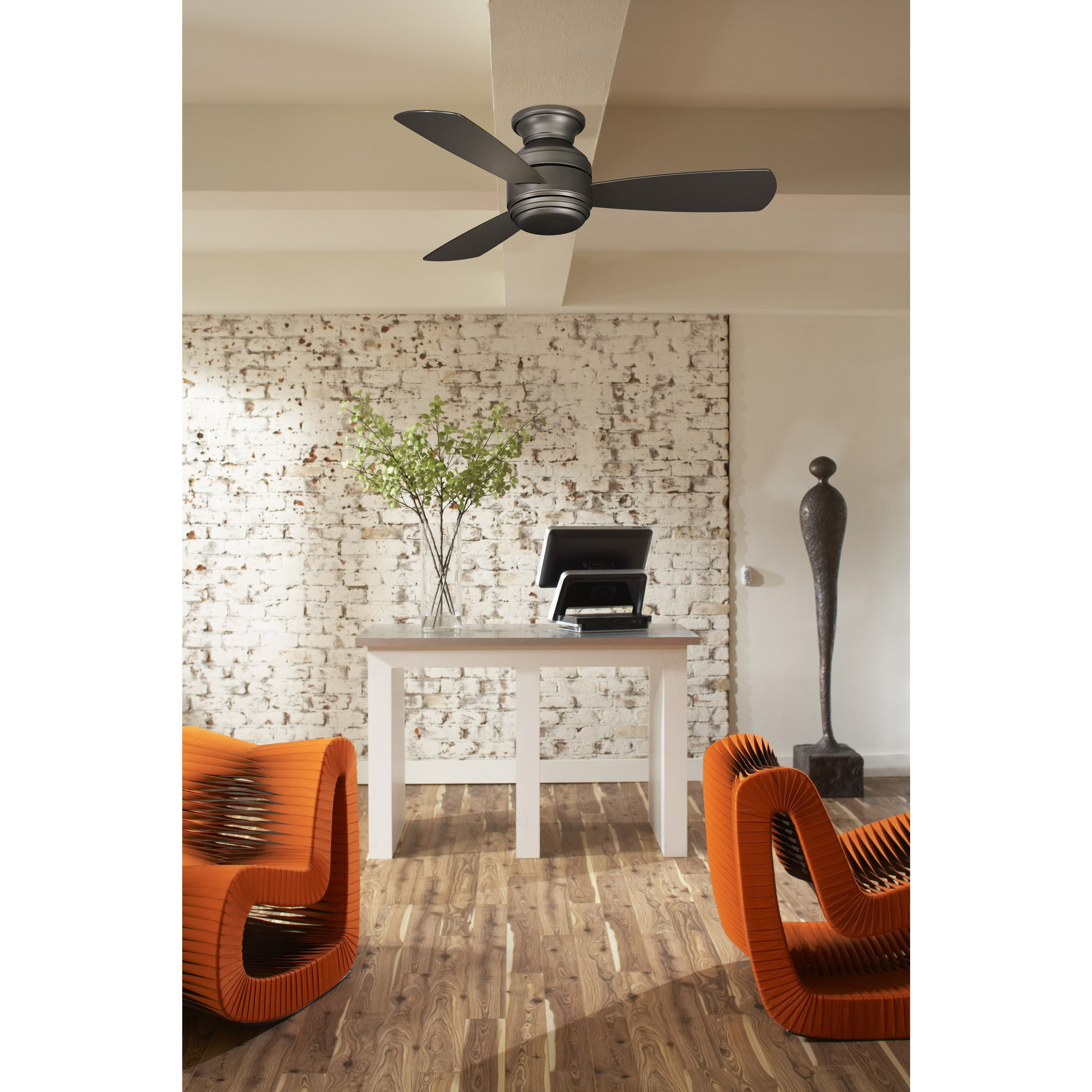 Fanimation Studio Collection Level 44 inch Snugger Fan With LED
