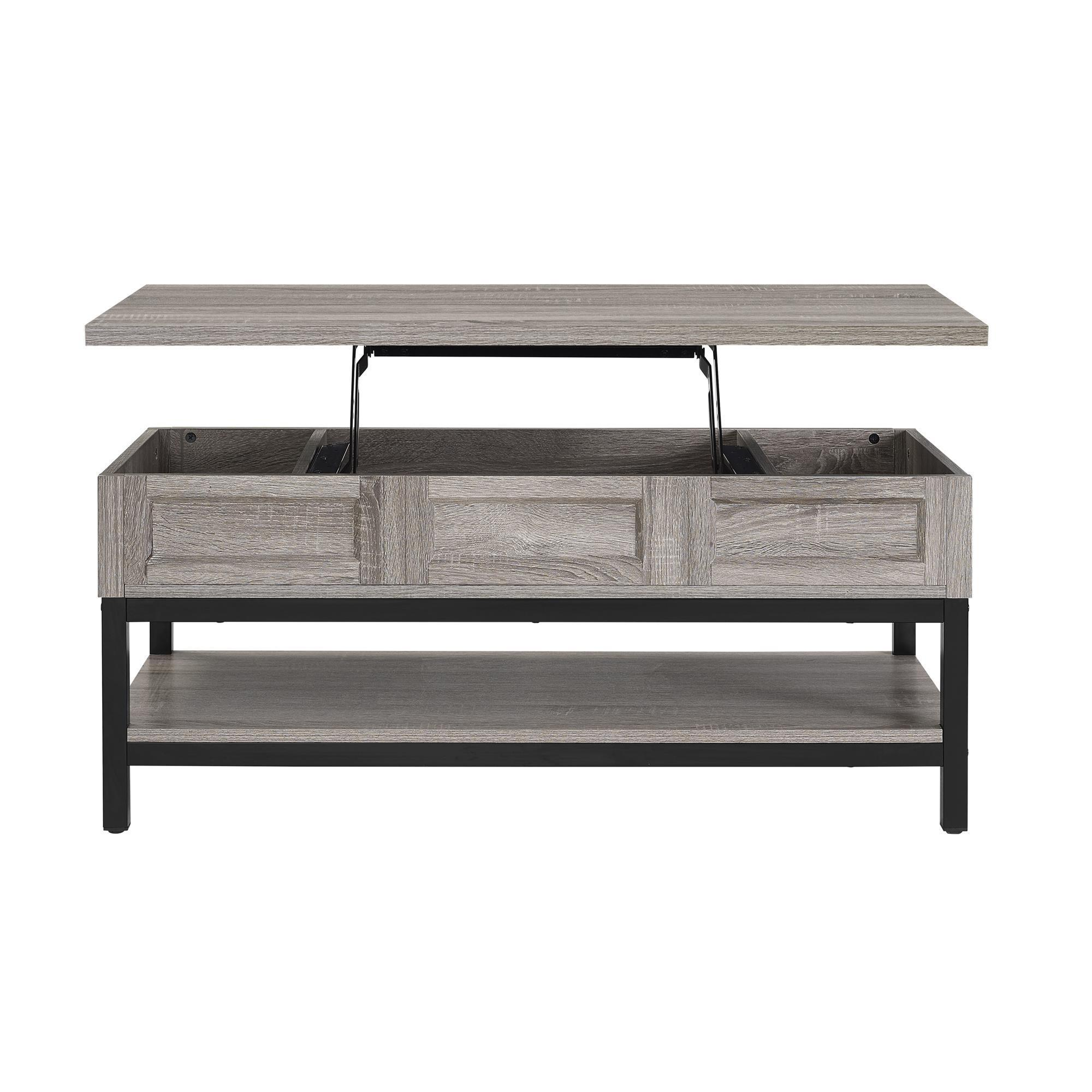Ameriwood Home Barrett Modern Farmhouse Lift Top Sonoma Oak Coffee Table    Free Shipping Today   Overstock.com   20561911 Design Inspirations