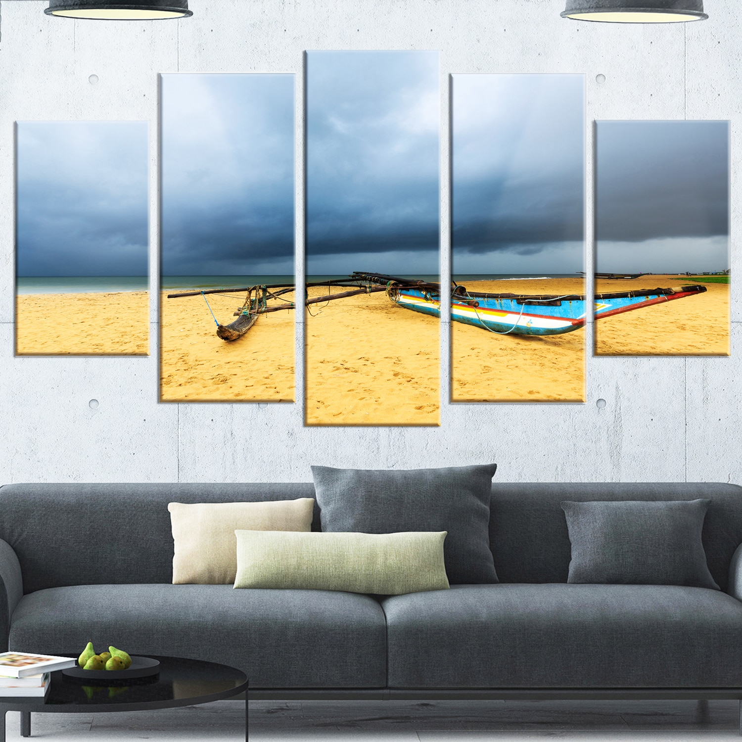 Amazing Large Beach Wall Art Gallery - The Wall Art Decorations ...