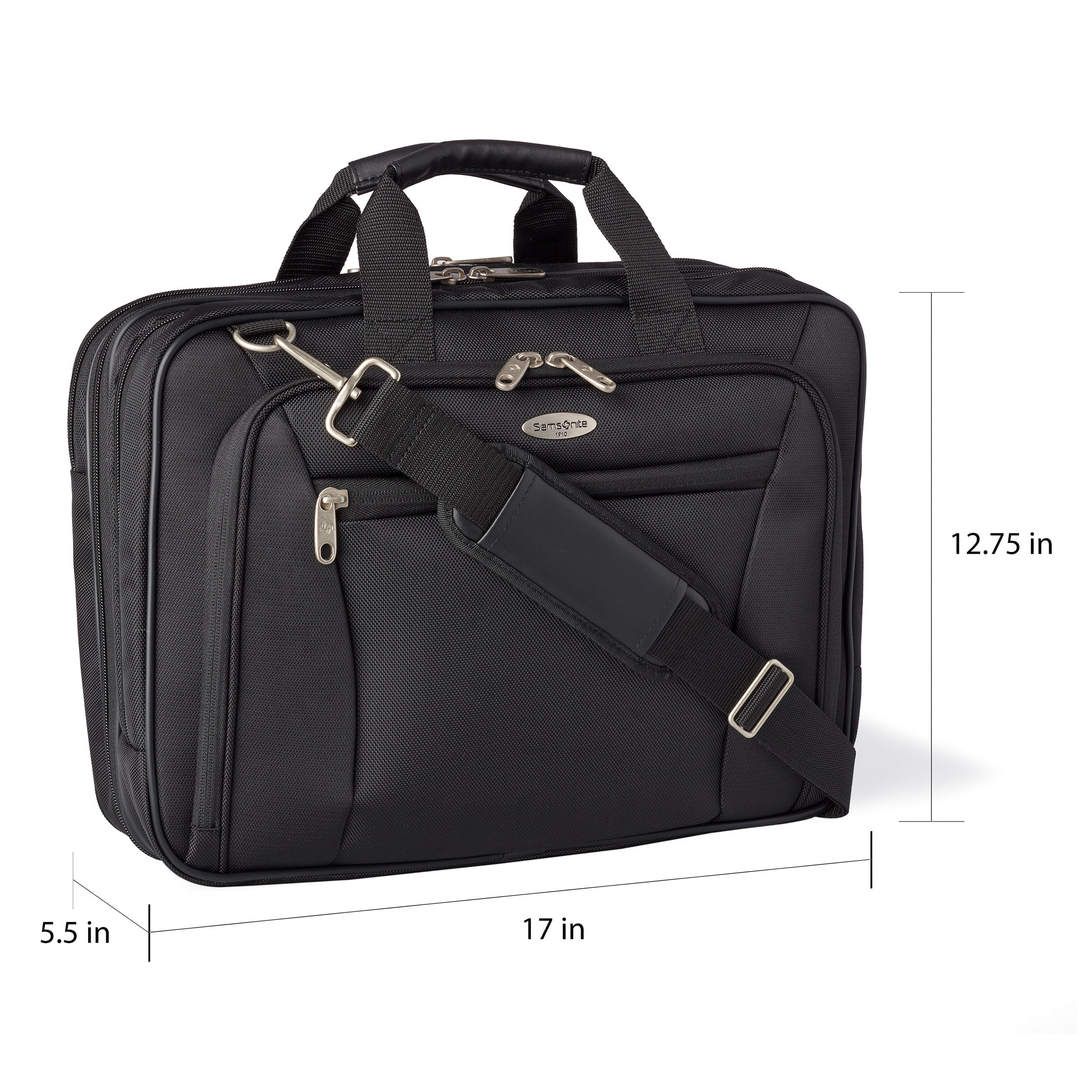 Samsonite Checkpoint-Friendly 17-inch Laptop Briefcase - Free ...