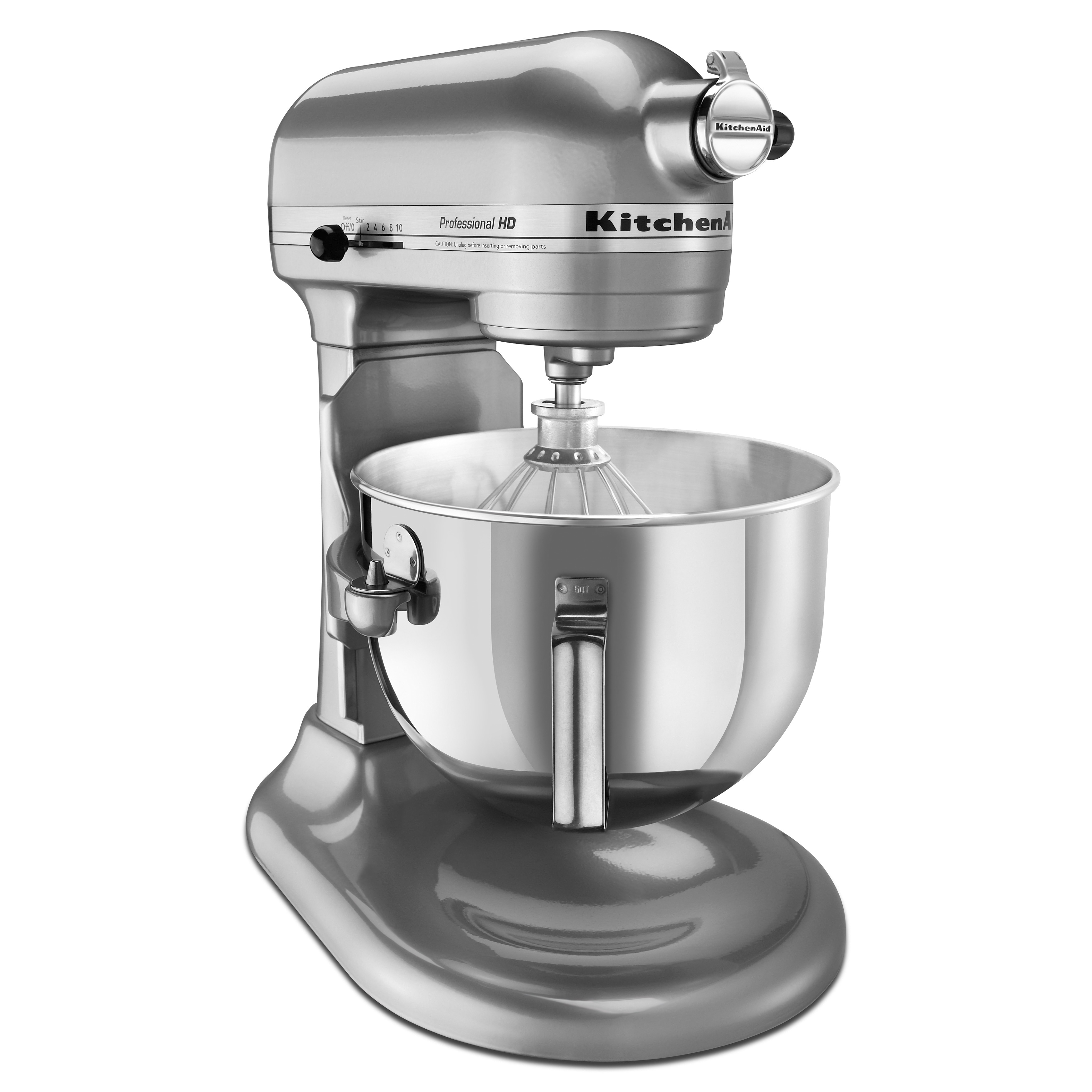 Shop KitchenAid RKG25H0XMC Metallic Chrome 5 Quart Bowl Lift Pro Stand Mixer  (Refurbished)   Free Shipping Today   Overstock.com   13930858