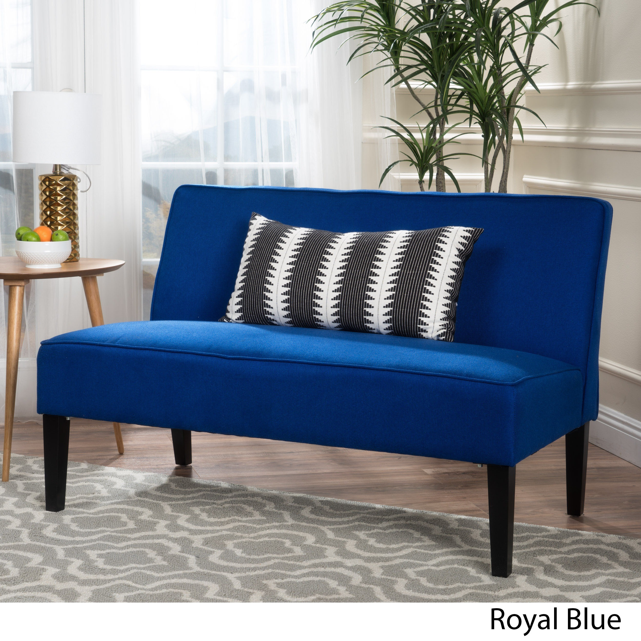 Dejon Fabric Loveseat by Christopher Knight Home Free Shipping