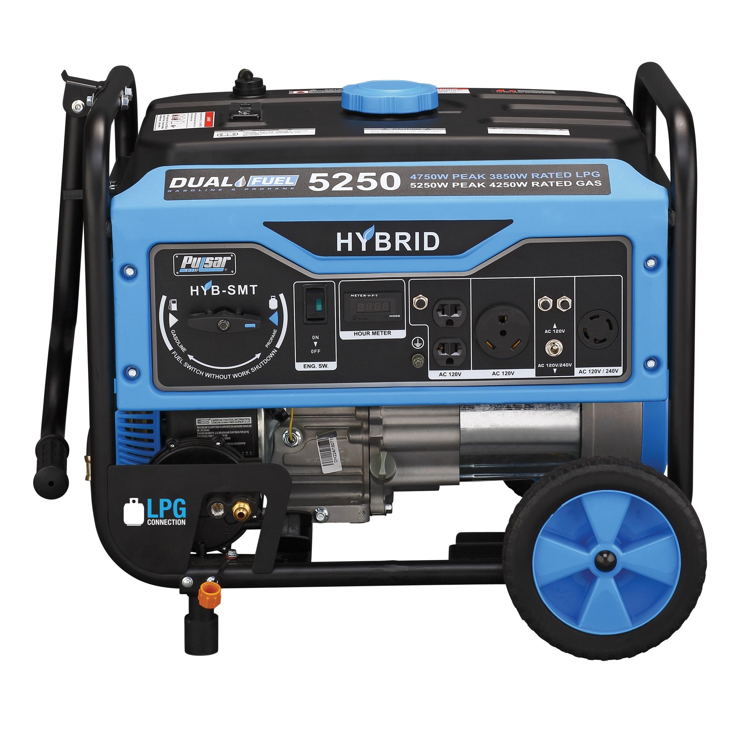 Pulsar 5250 watt Dual Fuel Portable Generator Free Shipping