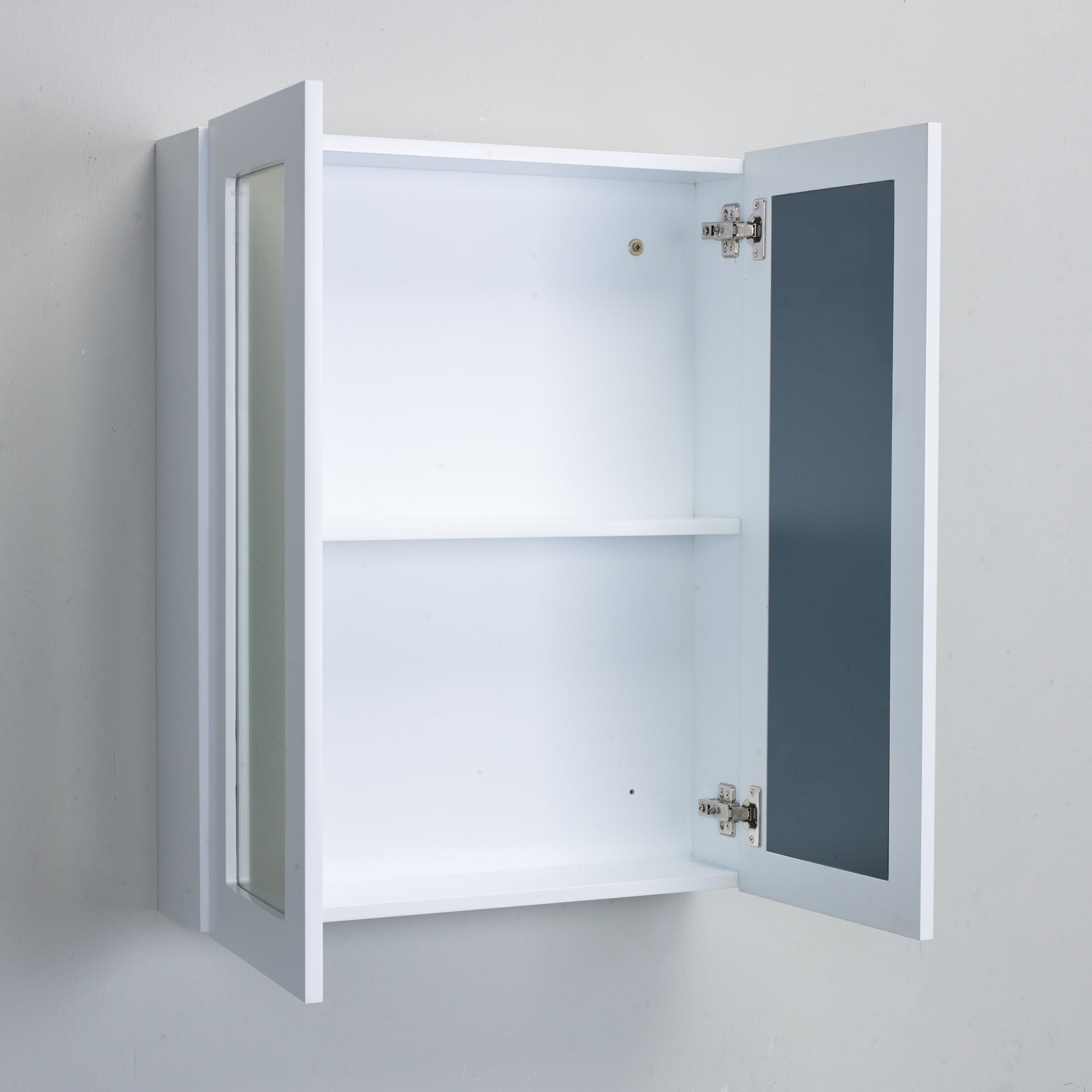 door bathroom westwood cupboard itm mount sentinel storage triple white mirror cabinet wall