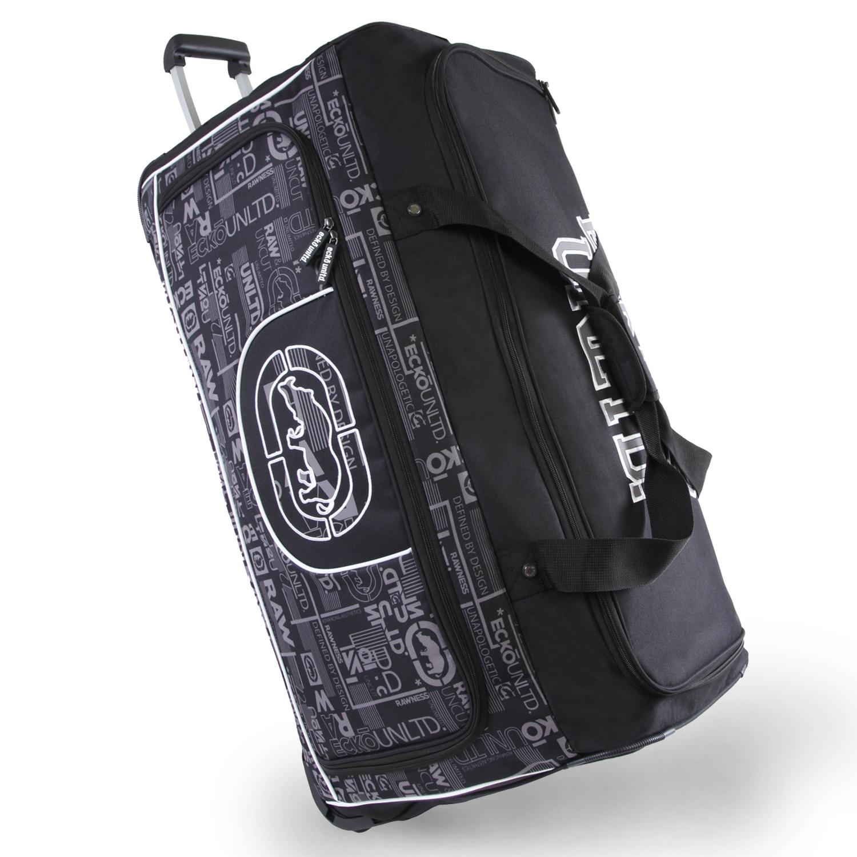 242b4f0b7b98 Shop Ecko Unlimited Alpha Blue 32-inch Large Rolling Duffel Bag ...
