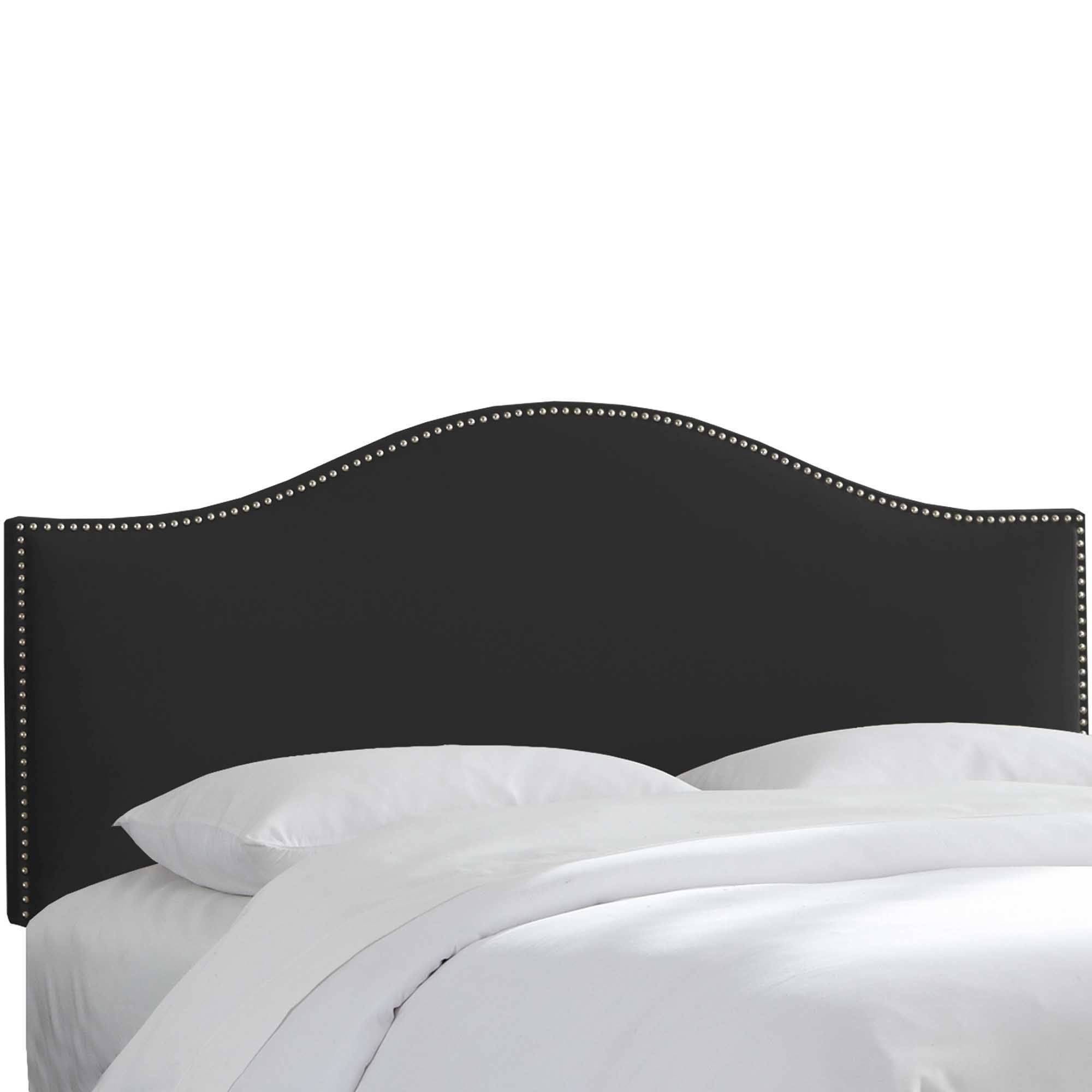 crushed headboards black velvet king tufted fullqueen of headboard gray arched frame impressive size queen twin diy nice full