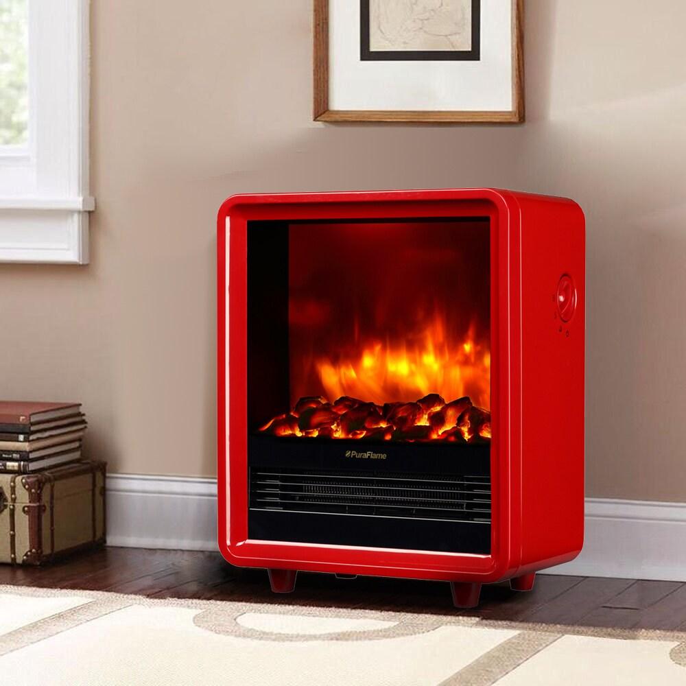 Shop Puraflame 12 Inch Octavia 1500w Portable Electric Fireplace