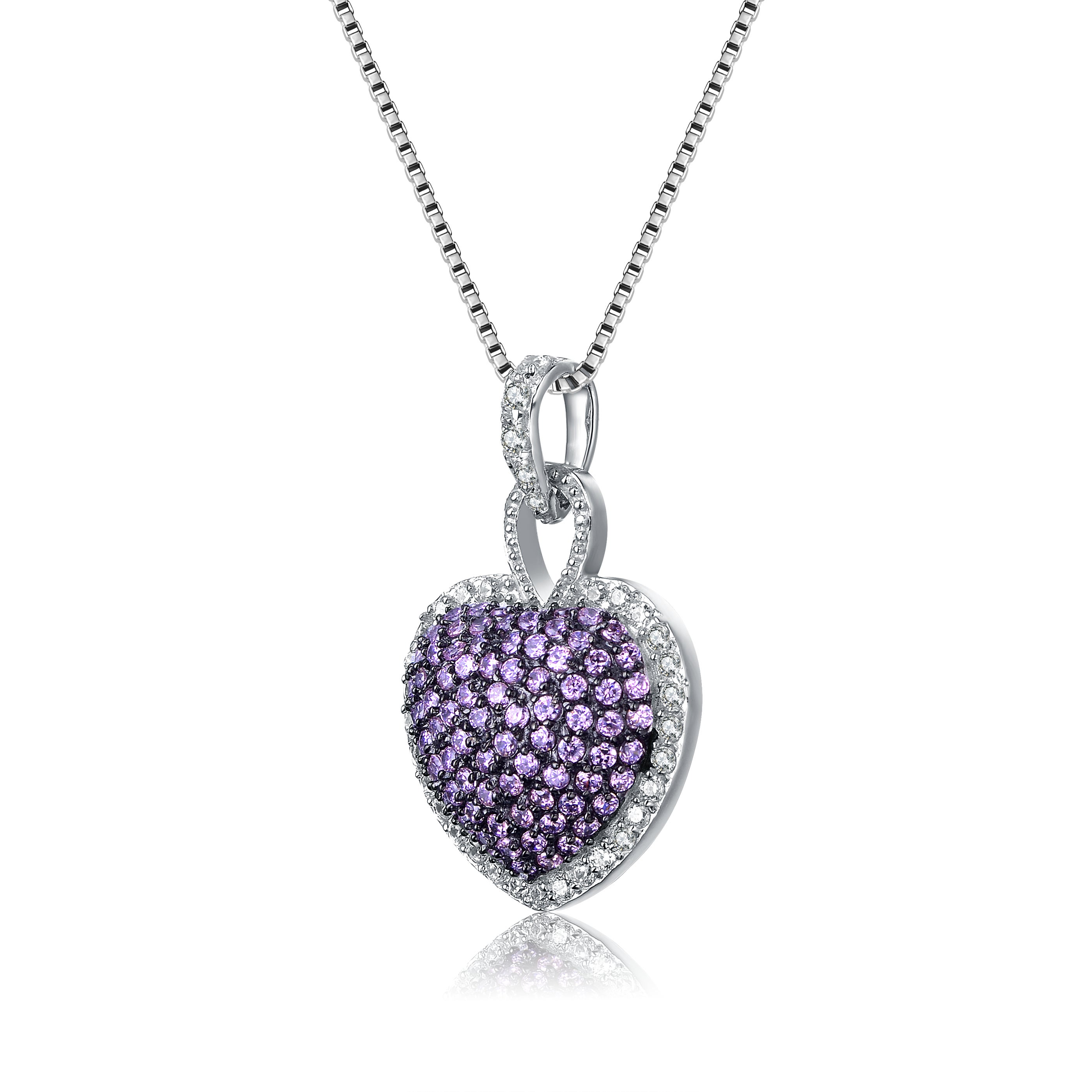 glowing heart il gift purple wife fullxfull necklace zoom listing