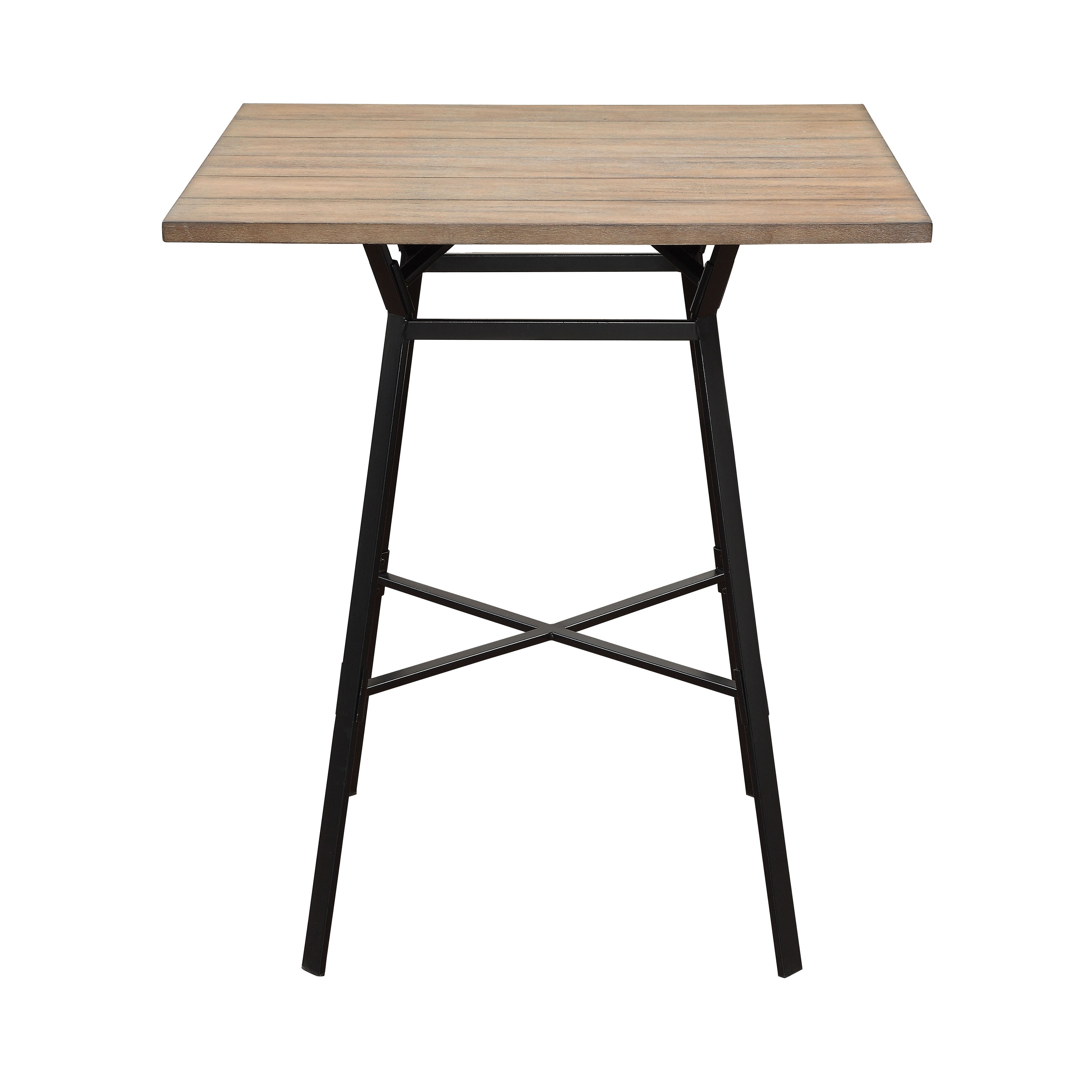 Acme Furniture Dora Metal Wood Bar Height Table and Stool (5-piece Set) - Free Shipping Today - Overstock.com - 20585049  sc 1 st  Overstock & Acme Furniture Dora Metal Wood Bar Height Table and Stool (5-piece ...