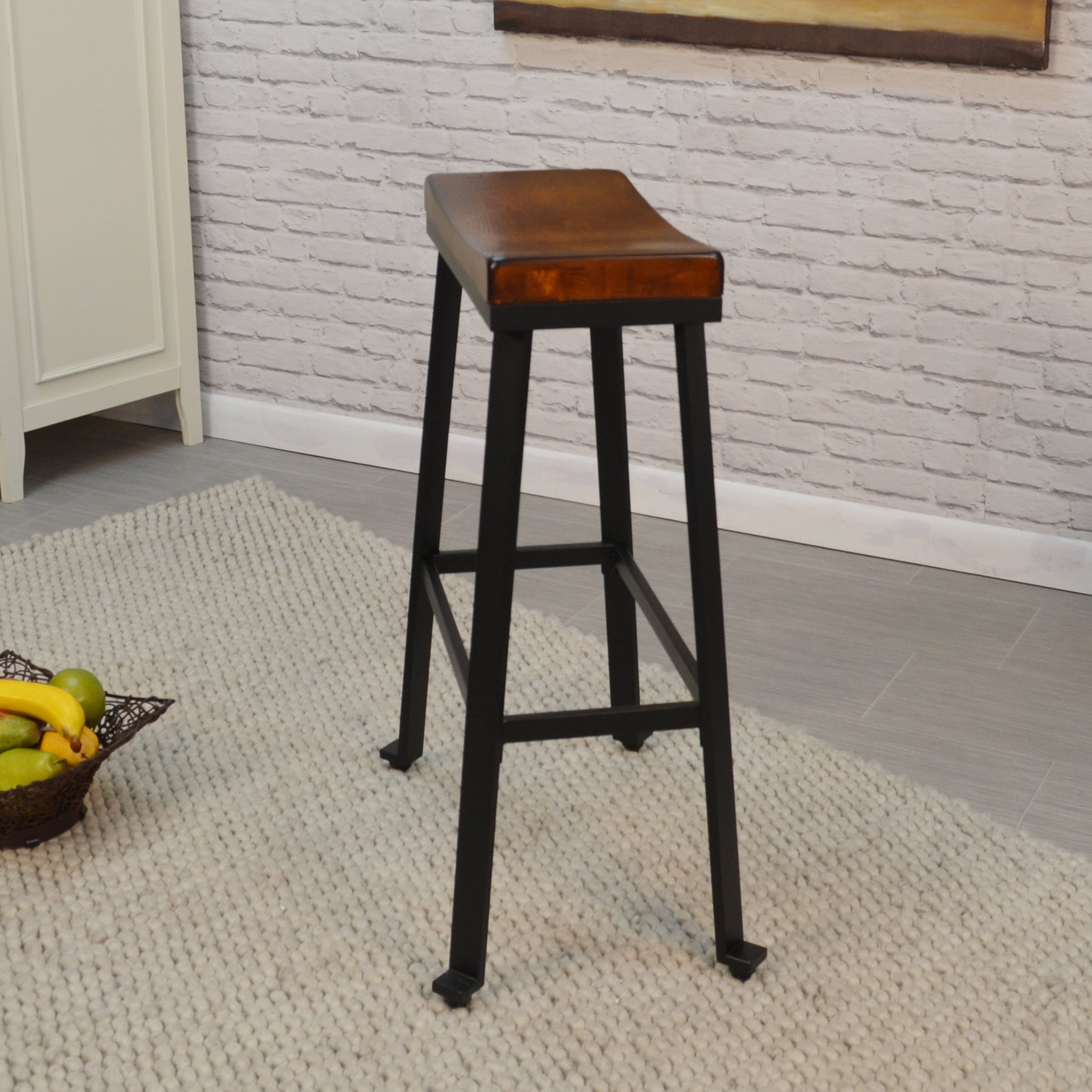 stools design free today counter shipping stool set brown seat height nailhead dining product saddle with overstock home trim of garden