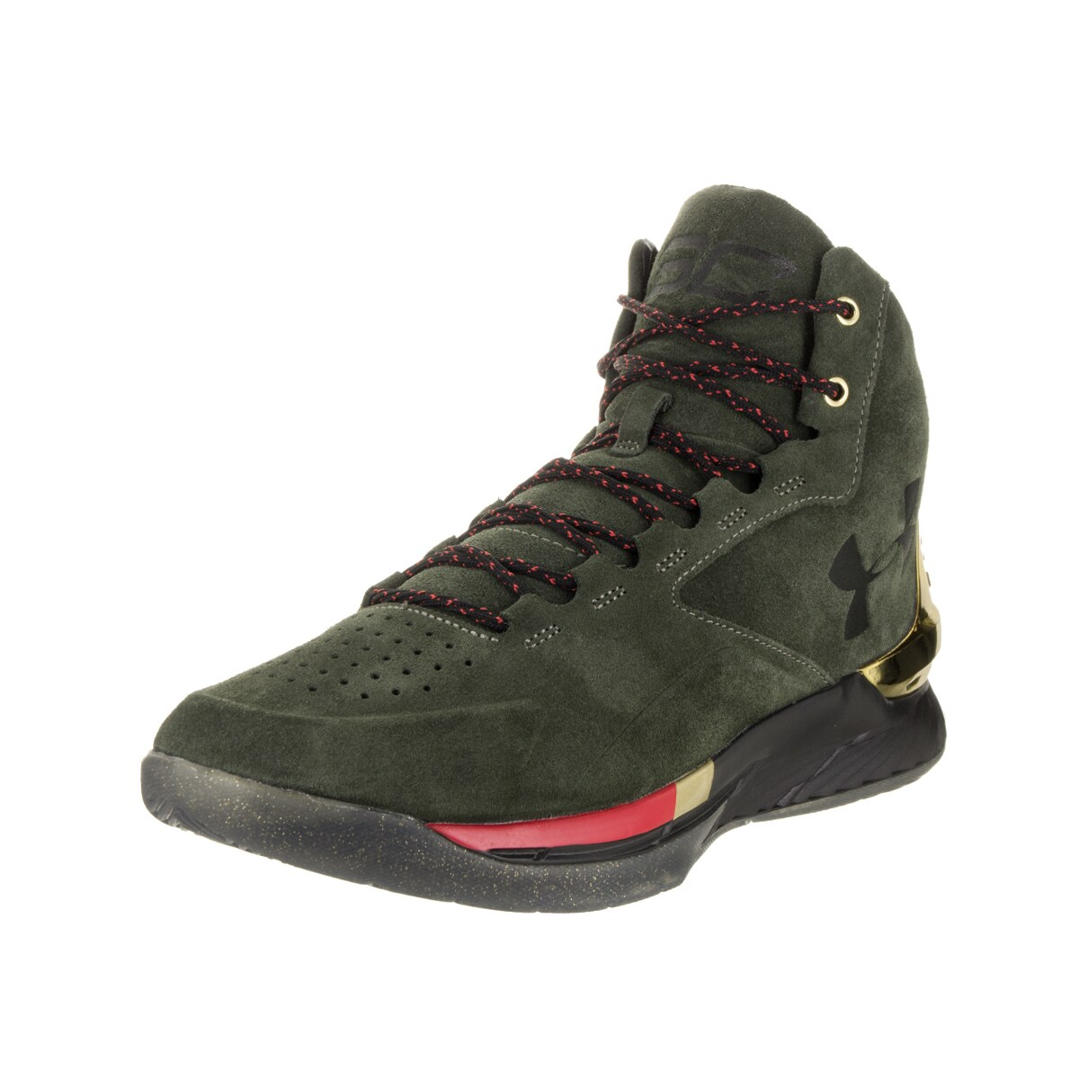 ad432a53784a Shop Under Armour Men s UA Curry 1 Lux Mid Sde Basketball Shoe - Free  Shipping Today - - 13959229
