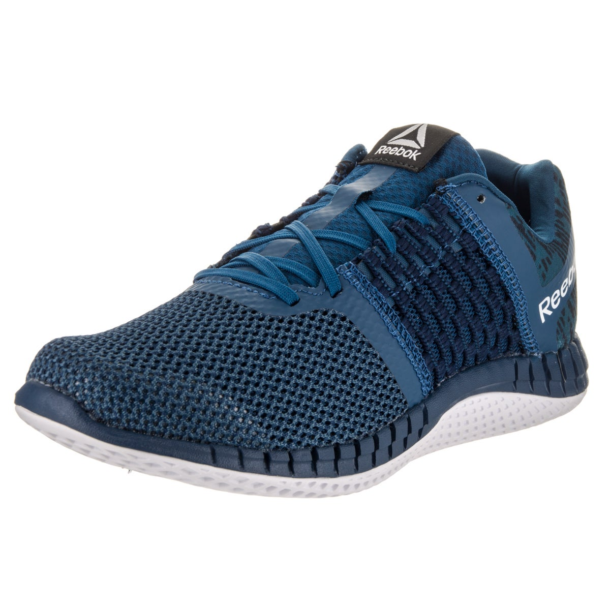 6011adb4544 Shop Reebok Women s Zprint Run Hazard Gp Running Shoe - Free ...