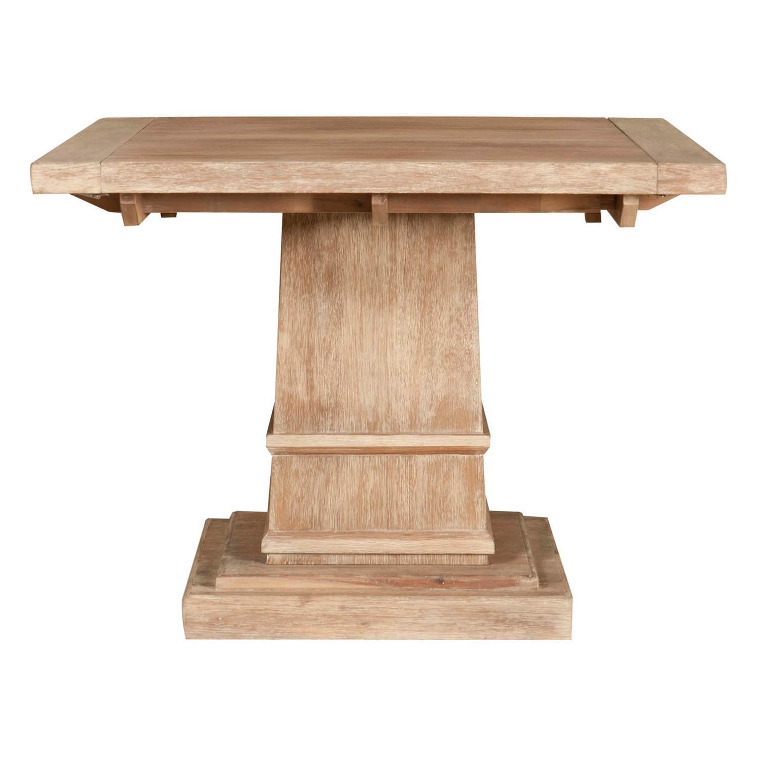 Harlan Square Extension Dining Table Stone Wash Free Shipping Today 13982219