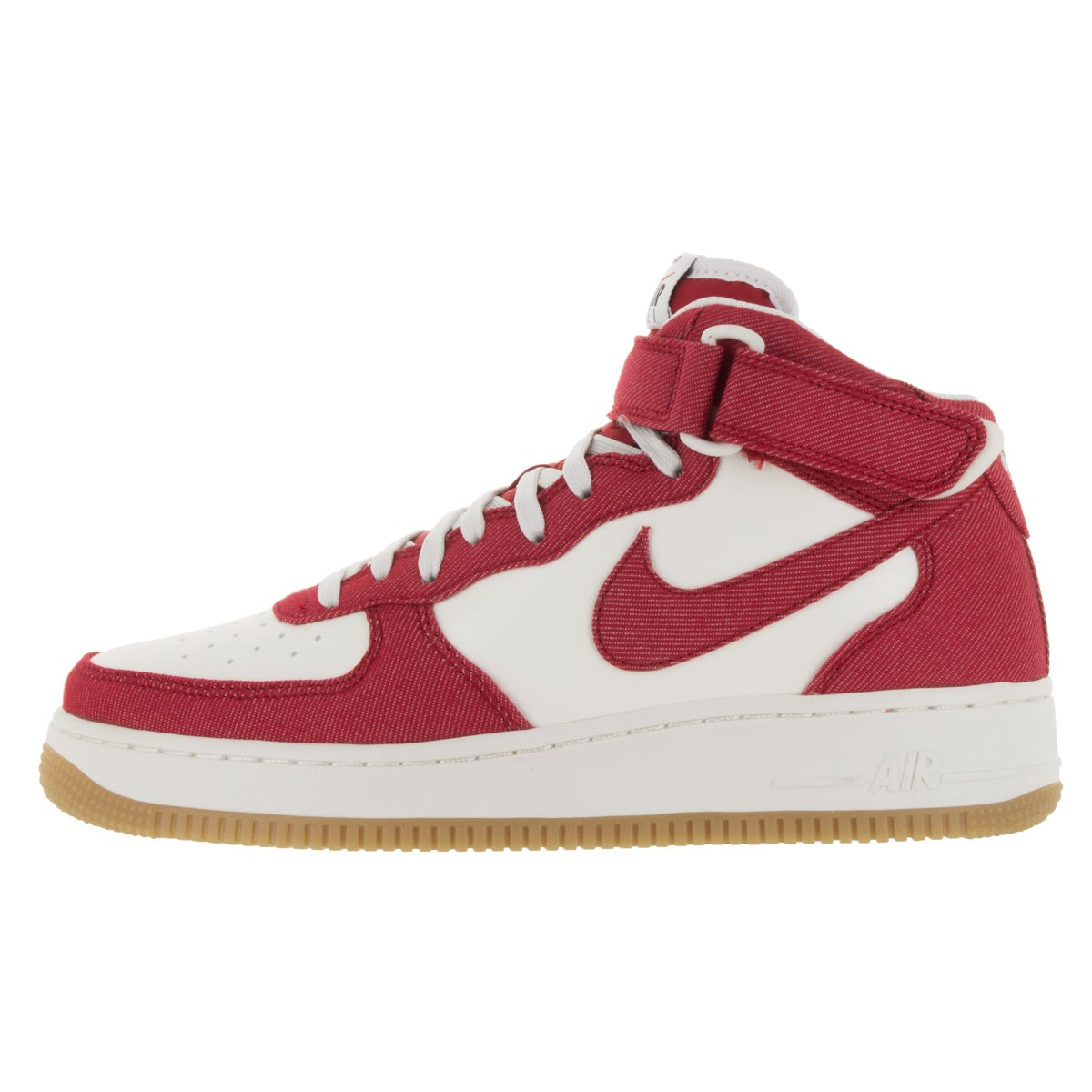 best authentic d405f a4185 Shop Nike Men s Air Force 1 Mid  07 Red Basketball Shoes - Free Shipping  Today - Overstock - 13984276