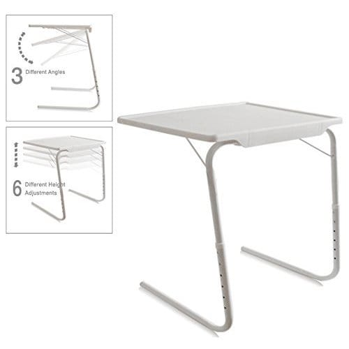 Shop Portable Foldable Adjustable ABS TV Tray Table   On Sale   Free  Shipping On Orders Over $45   Overstock.com   13986245