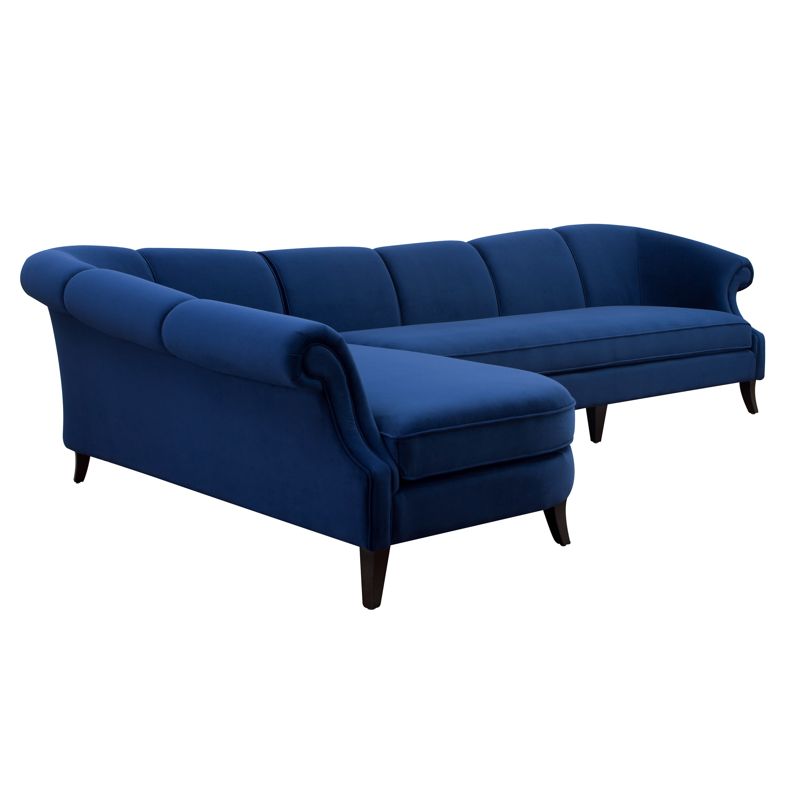 Beau Shop Jennifer Taylor Victoria Upholstered Sectional Sofa   On Sale   Free  Shipping Today   Overstock.com   13986652