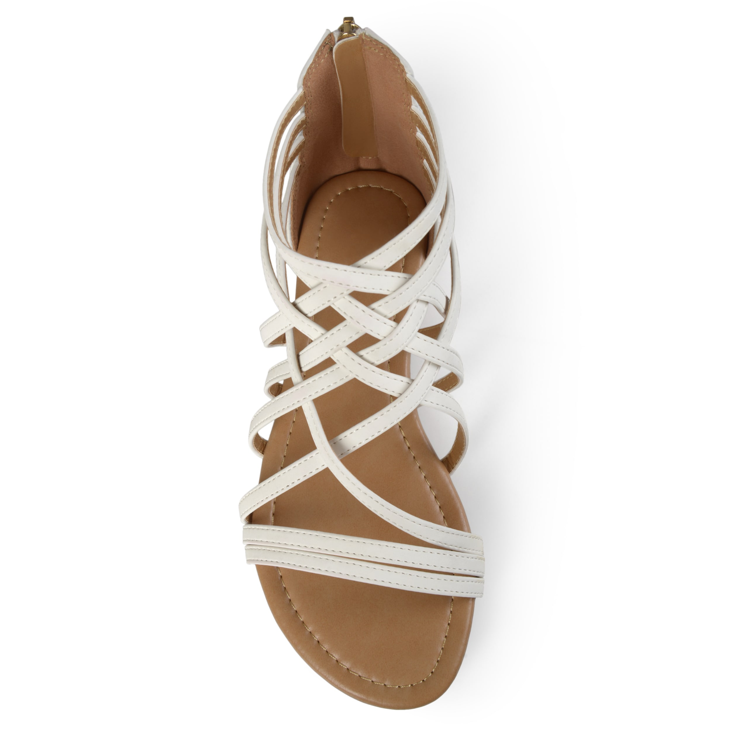 5800195f4967 Shop Journee Collection Women s  Hanni  Flat Gladiator Sandals - Free  Shipping On Orders Over  45 - Overstock - 13989400