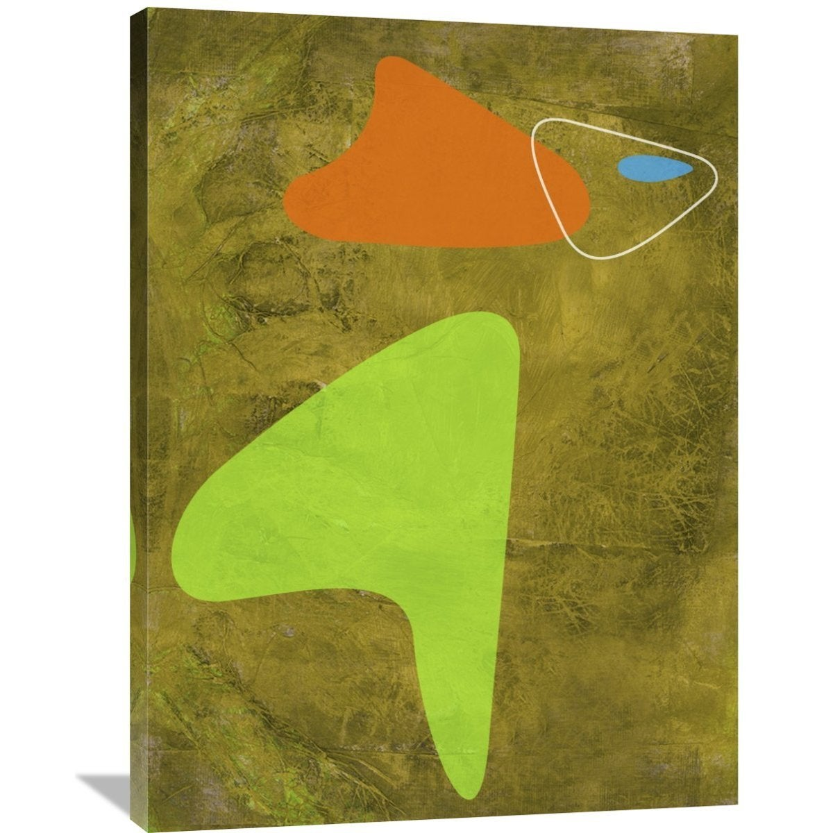 Naxart Studio \'Shapes 2\' Stretched Canvas Wall Art - Free Shipping ...