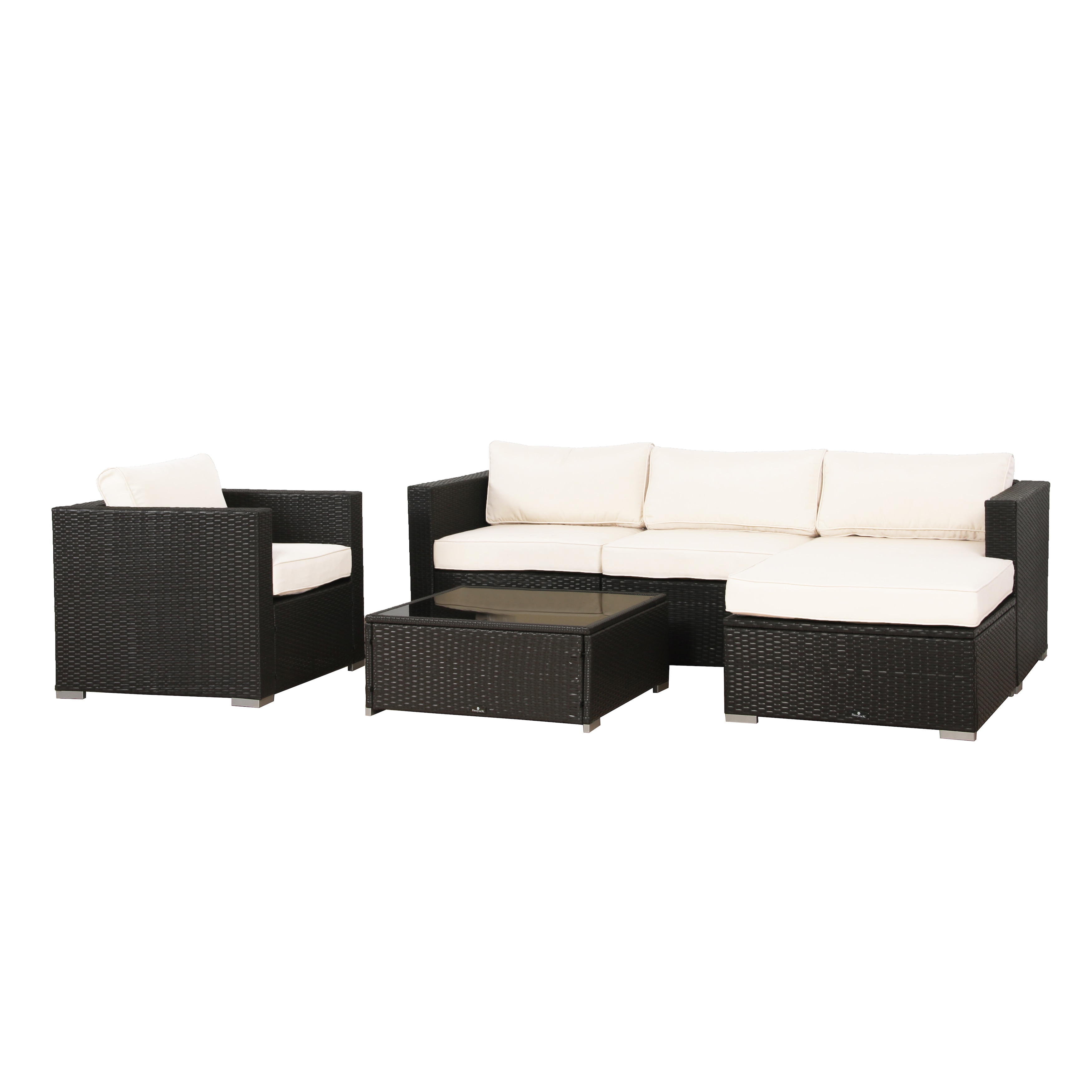 Shop BroyerK Cushion Cover For 6 Piece Outdoor Sofa Rattan Set   Free  Shipping Today   Overstock.com   13999078