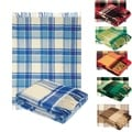 100-percent Pure Wool Classic Tarten Design Throw Blankets