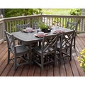 Chippendale Polywood 7-Piece Dining Set