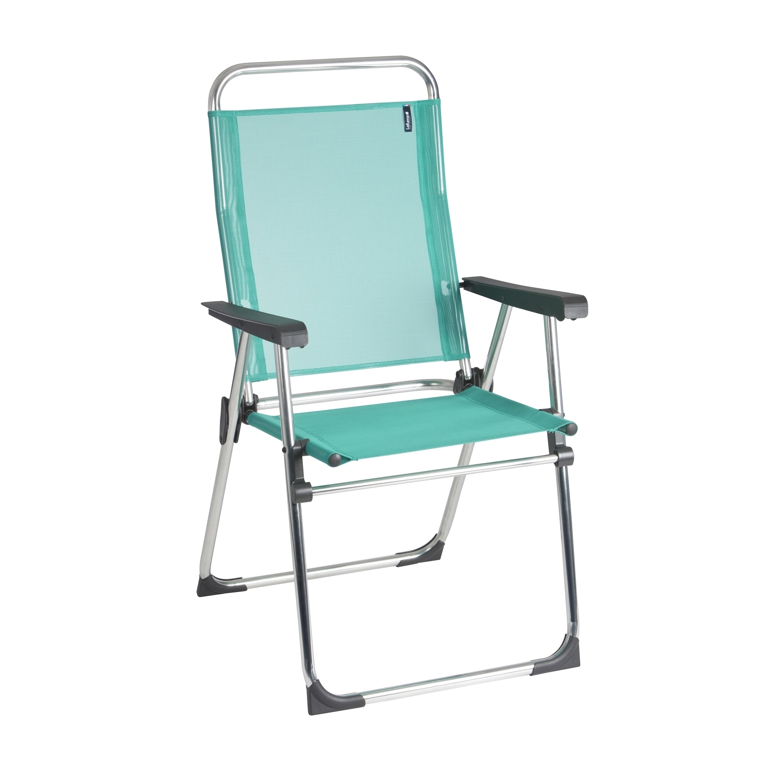 Lafuma Victoria Alu Brut Aluminum Frame Folding Chair With Emeraude  Batyline Fabric (Set Of 6)   Free Shipping Today   Overstock   20626260