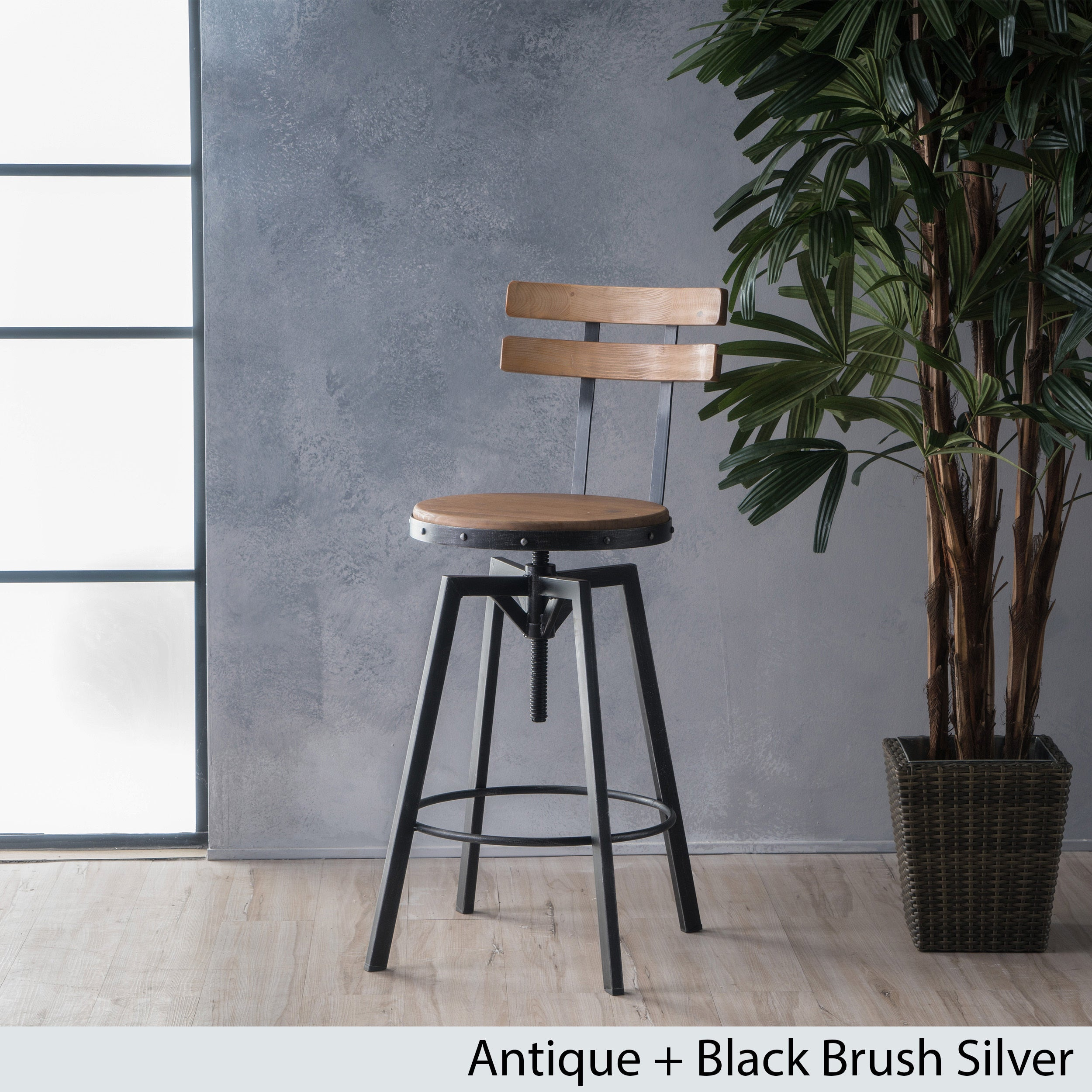 Shop fenix firwood antique 26 inch barstool by christopher knight home on sale free shipping today overstock com 14029641