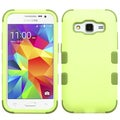 Insten Green Tuff Hard PC/ Silicone Dual Layer Hybrid Rubberized Matte Case Cover For Samsung Galaxy Core Prime