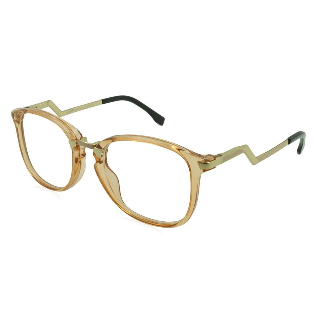 9ad2aad91a3f Fendi eyeglasses peach frame only with demo lenses e af jpg 1000x1000 Fendi  frames peach