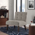 Landon Accent Chair Grey Tweed