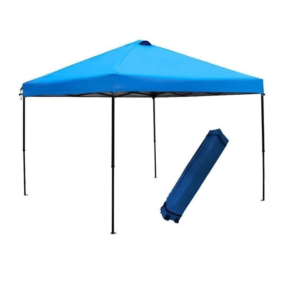 Shop Abba Patio 10x10 Foot Blue Outdoor Pop Up Portable Shade