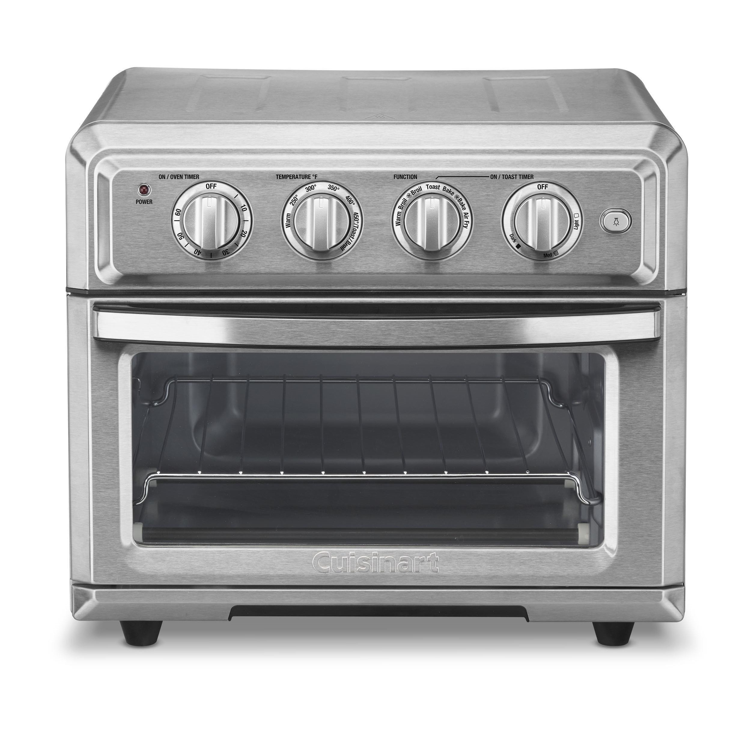 Shop Cuisinart TOA 60 Stainless Steel Combination Air Fryer Toaster Oven