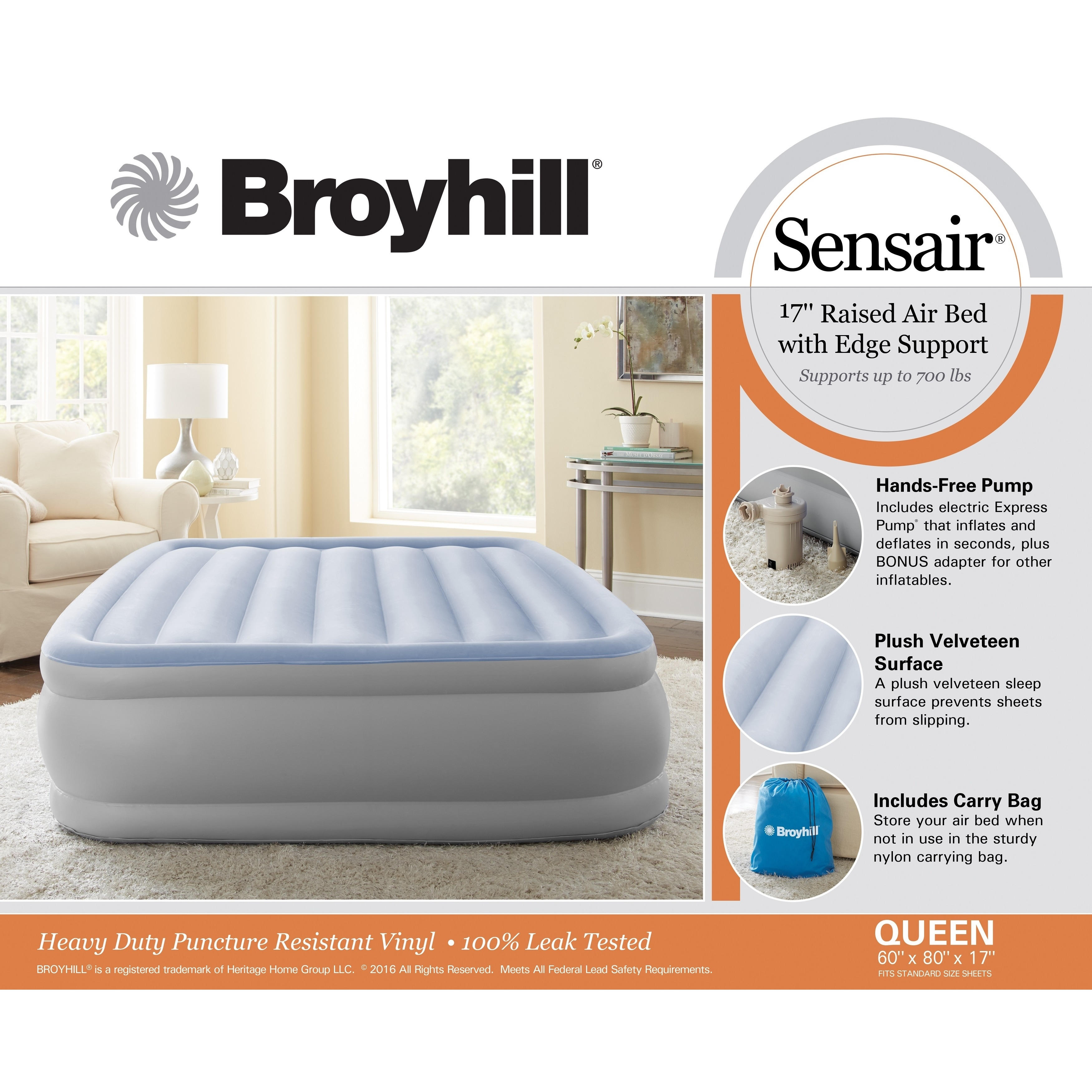 hei double herol bed queen aerobed sale classic air wid mattress high