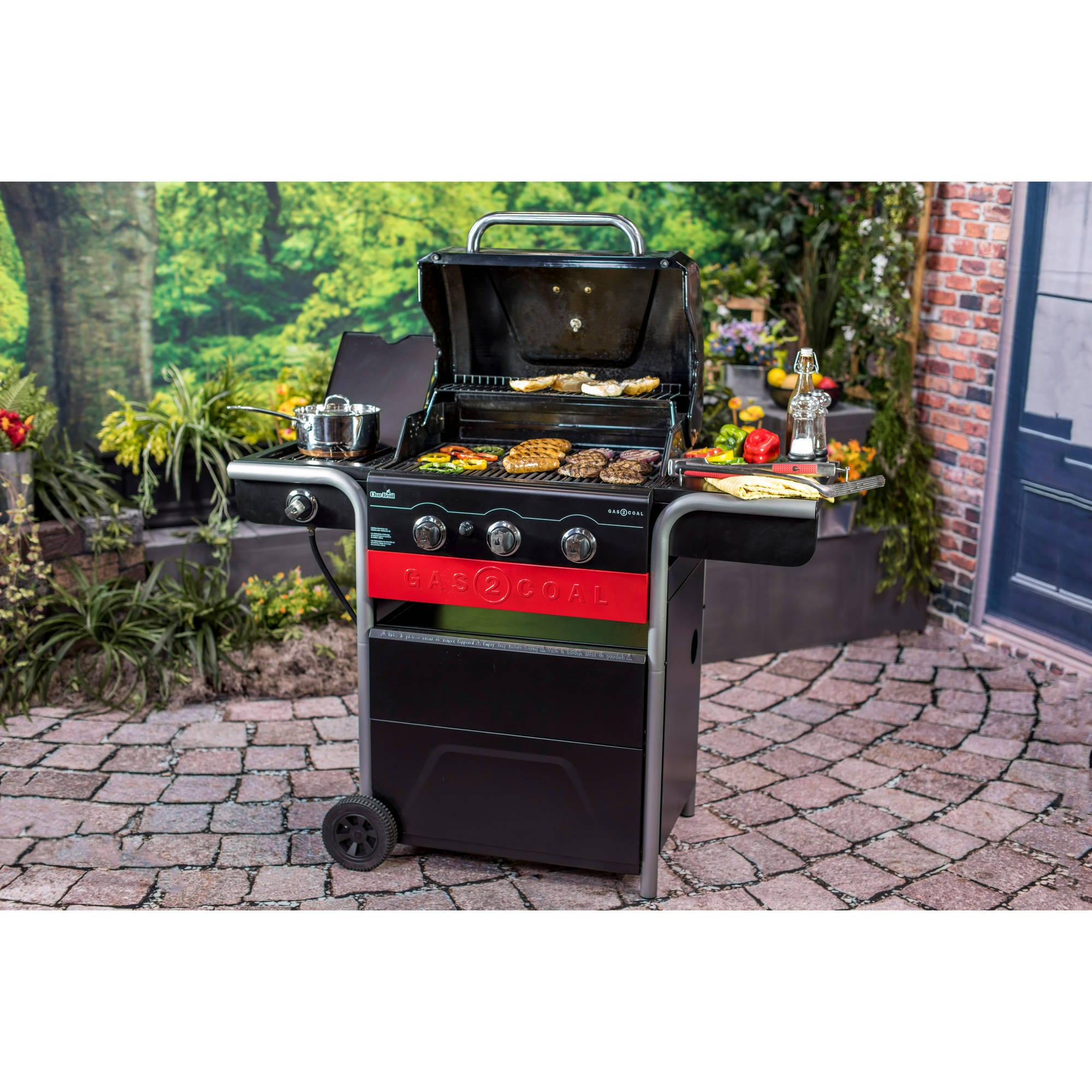 Char Broil Gas2coal Gas And Charcoal Grill Free Shipping Today 14039422