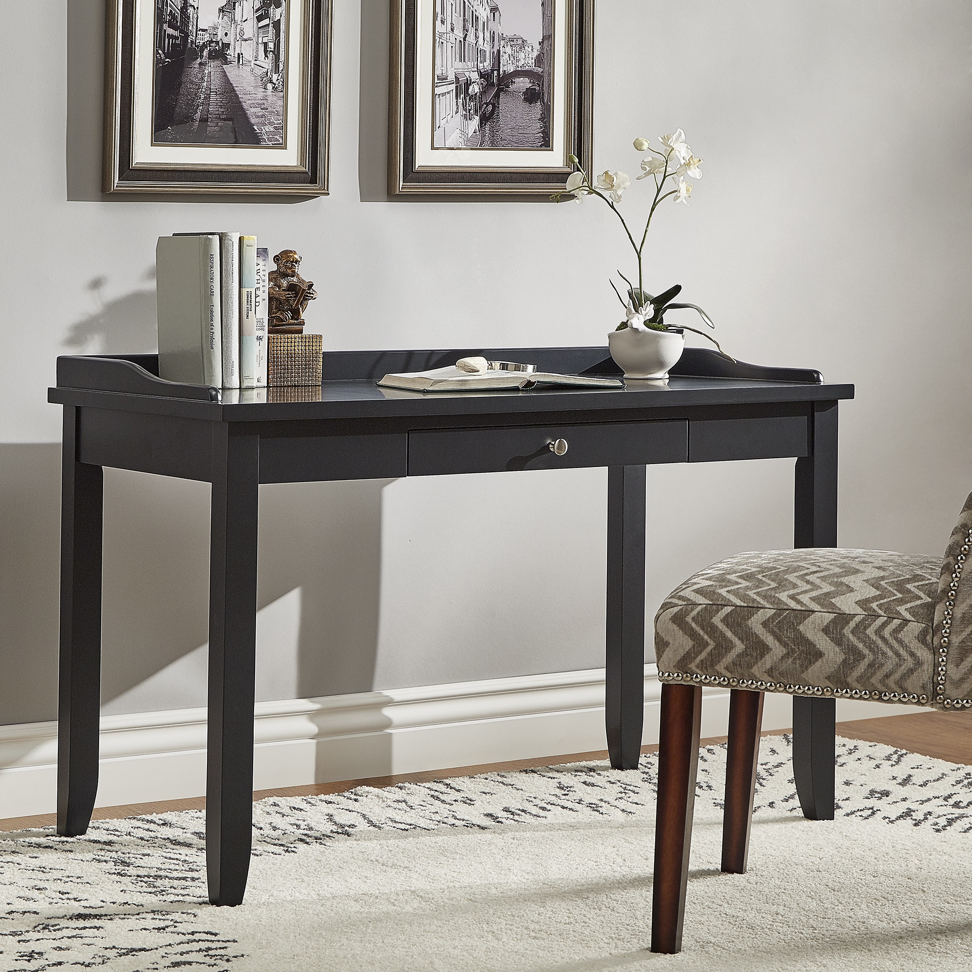 Lewis 1-Drawer Writing Desk by iNSPIRE Q Classic - Free Shipping Today -  Overstock