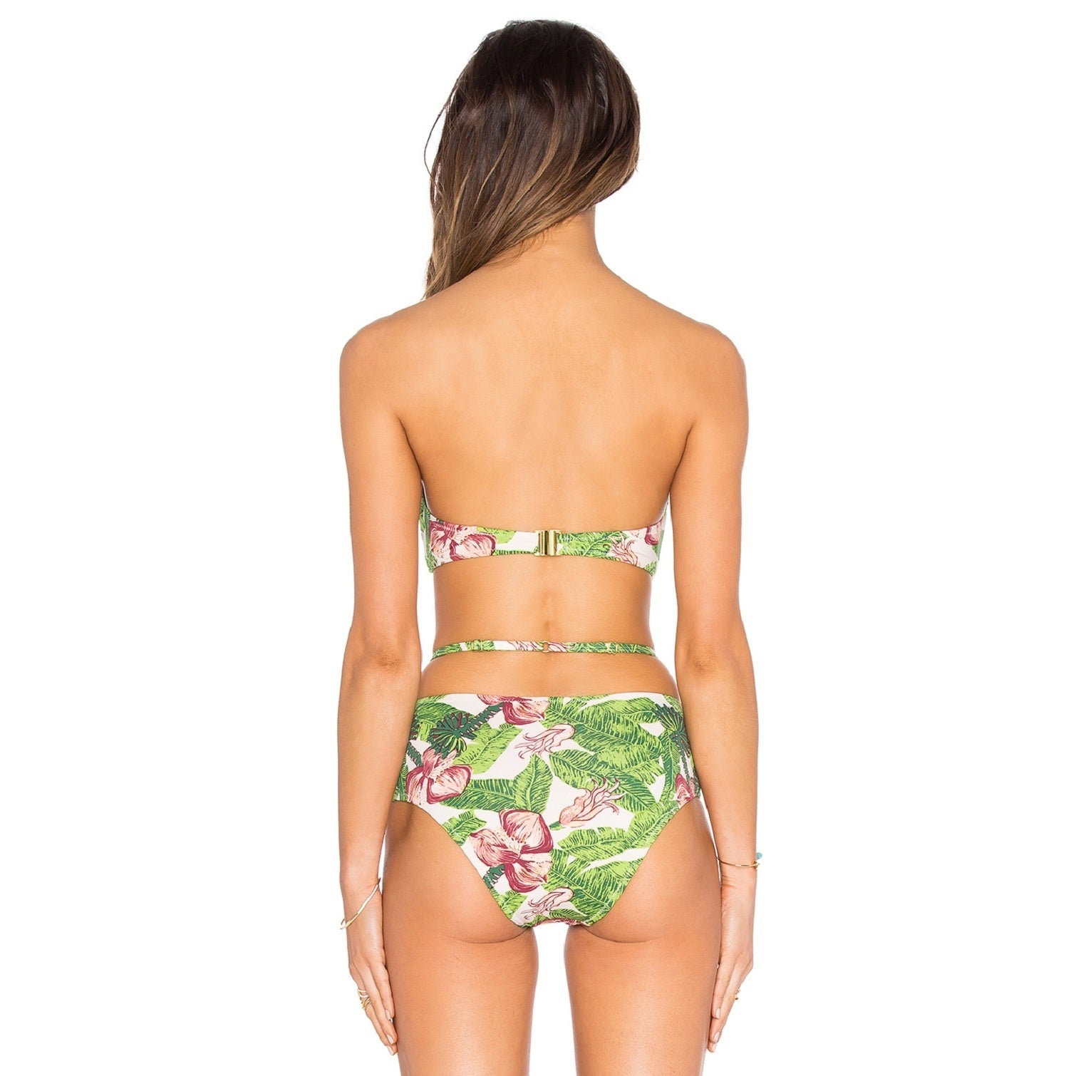 Somedays Lovin Women's Ayana Floral High-waisted Bikini Bottom - Free  Shipping Today - Overstock.com - 20661074