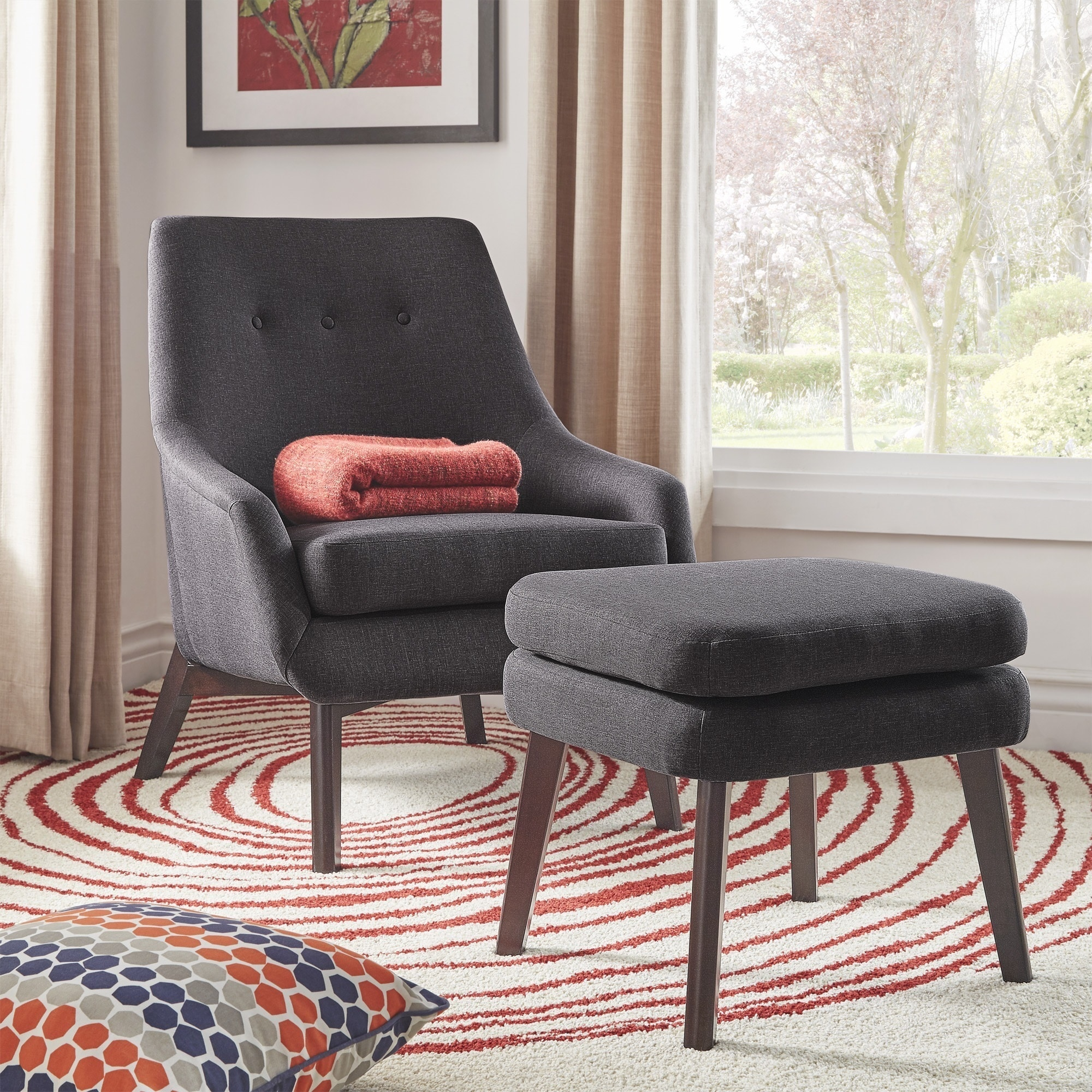 today shipping home garden abbyson chair overstock ottomans fabric and shiloh ottoman free chairs product gliding