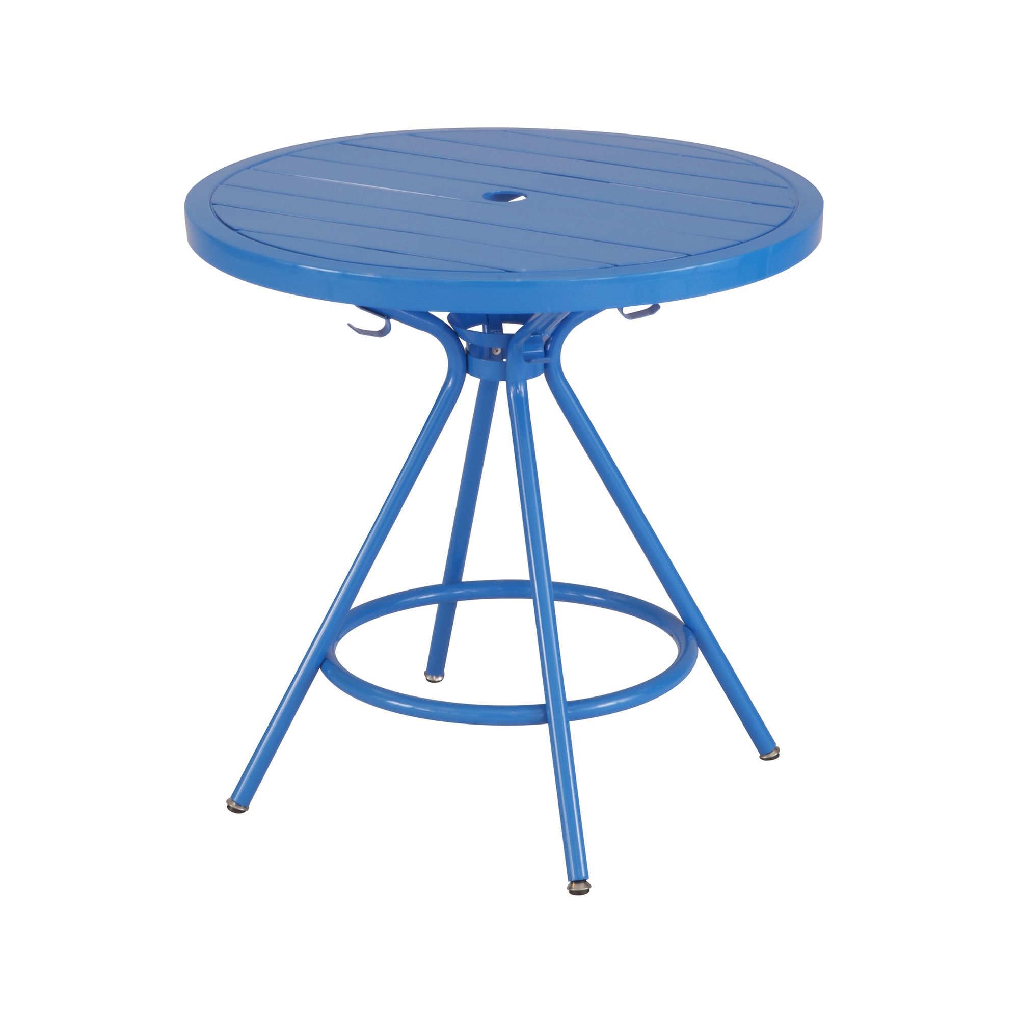 Shop Safco CoGo Metal IndoorOutdoor Inch Round Table Free - 30 inch round outdoor table