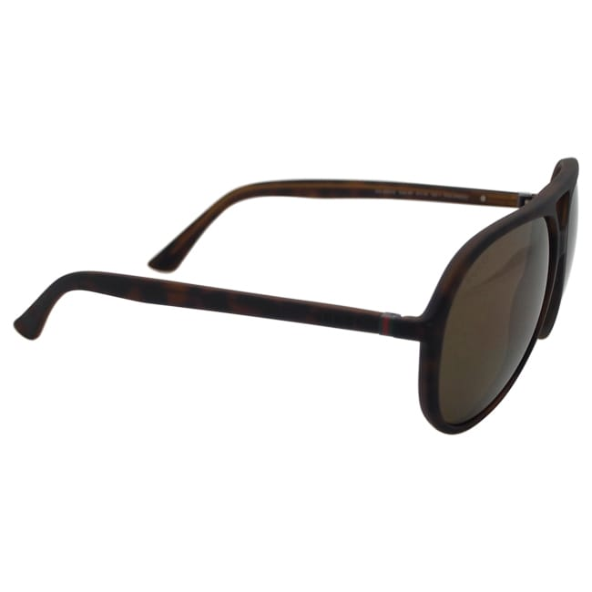 d8bf946013f Shop Gucci Men s GG 1090 S DWJ1R - Havana Polarized Sunglasses - Free  Shipping Today - Overstock - 14065220