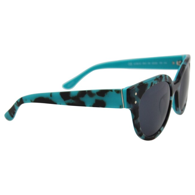 d7f0c13c06 Shop Juicy Couture Women s JU 581 S 0RVI R6 - Havana Aqua Sunglasses - Free  Shipping Today - Overstock - 14065264