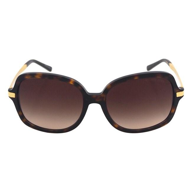 176ad6a4b4e Shop Michael Kors Woman s MK 2024 310613 Adrianna II - Dark Tortoise  Sunglasses - Free Shipping Today - Overstock - 14065798