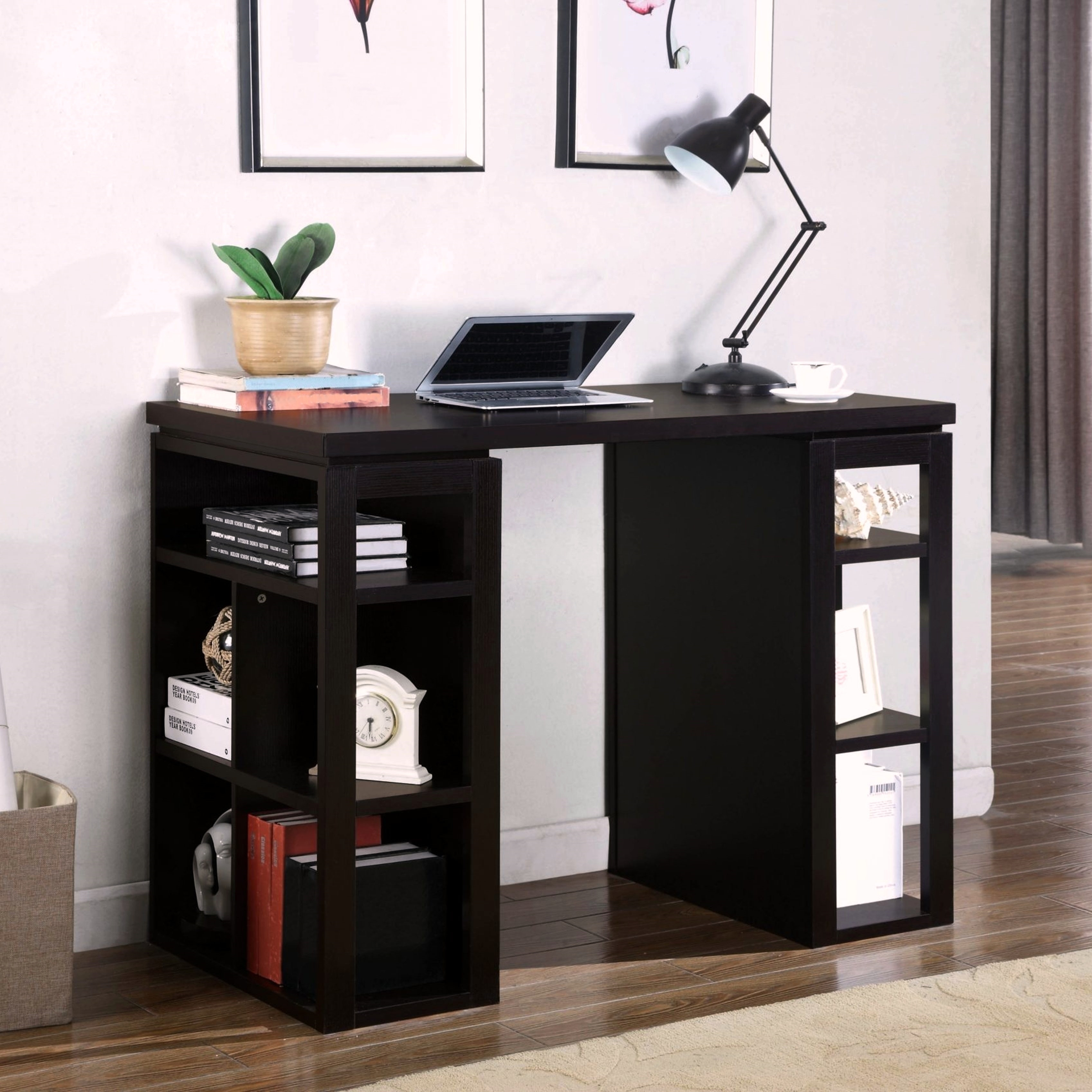 Modern Design Inch Counter Height Work Station Bookcase Writing - 36 desk with drawers