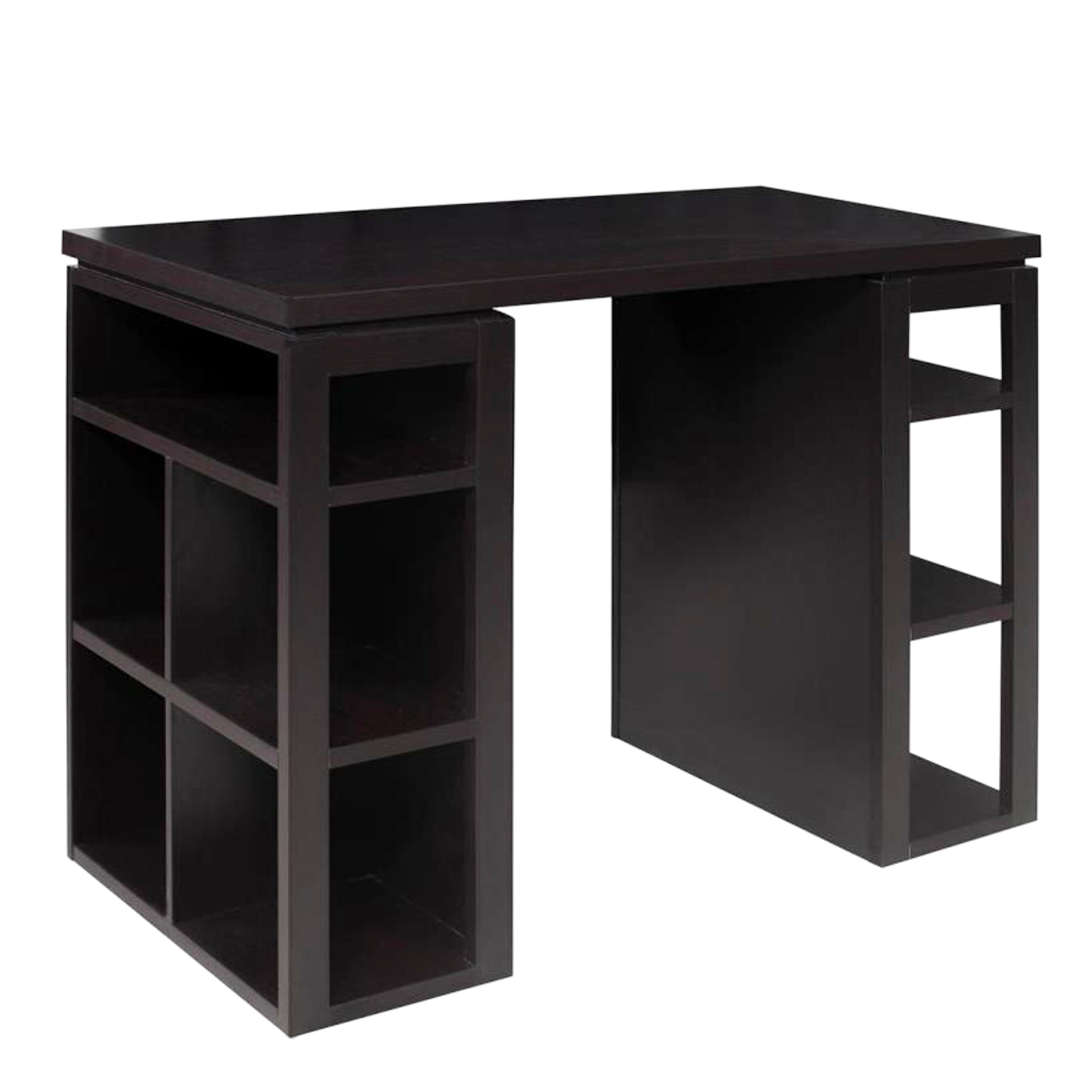 Modern Design 36 Inch Counter Height Work Station Bookcase Writing Desk Free Shipping Today 14066779