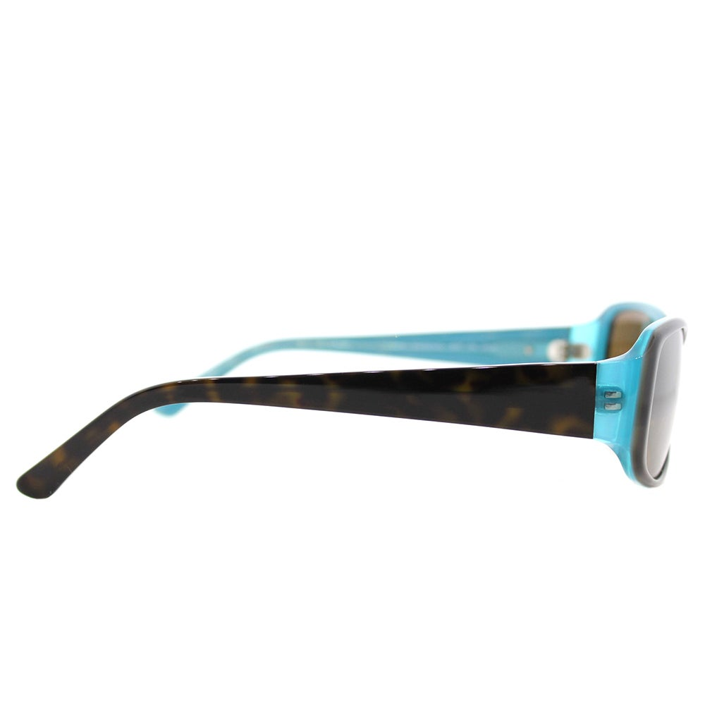 3739103e9f86d Shop Kate Spade Women s KS Paxton N JEYP Tortoise Aqua Plastic Rectangle  Brown Polarized Lens Sunglasses - Ships To Canada - Overstock.ca - 14066955