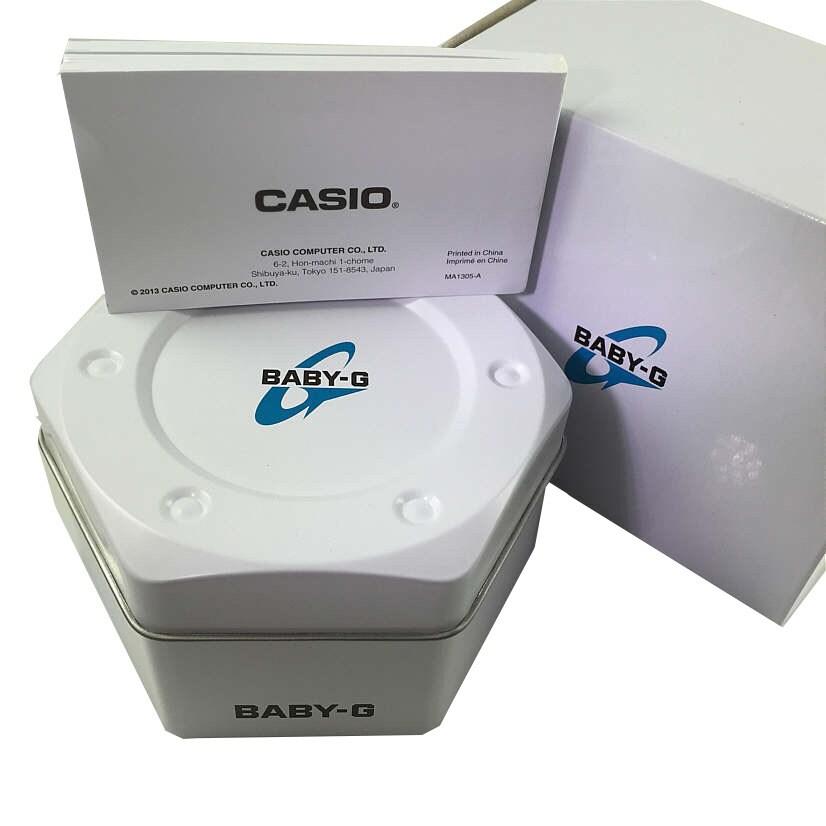 ddf18887f Shop Casio Baby-G Mini GA110 Series Women's Sports Watch (Black/Pink) - Free  Shipping Today - Overstock - 14074807
