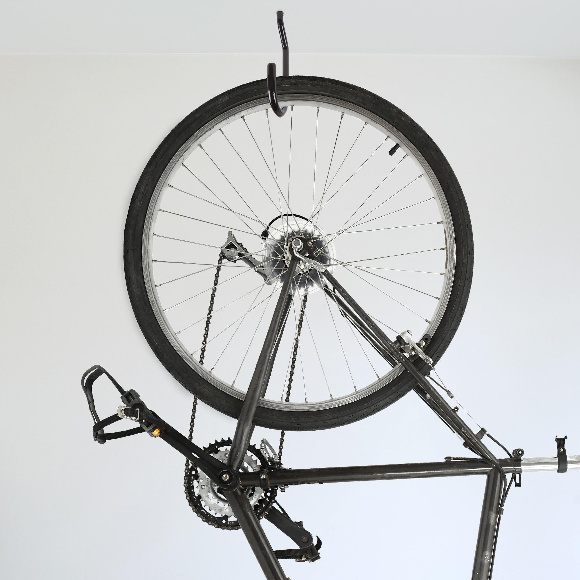 mount rack raw bike storage to platinum magnifier steel up floor ceiling gear ceilings