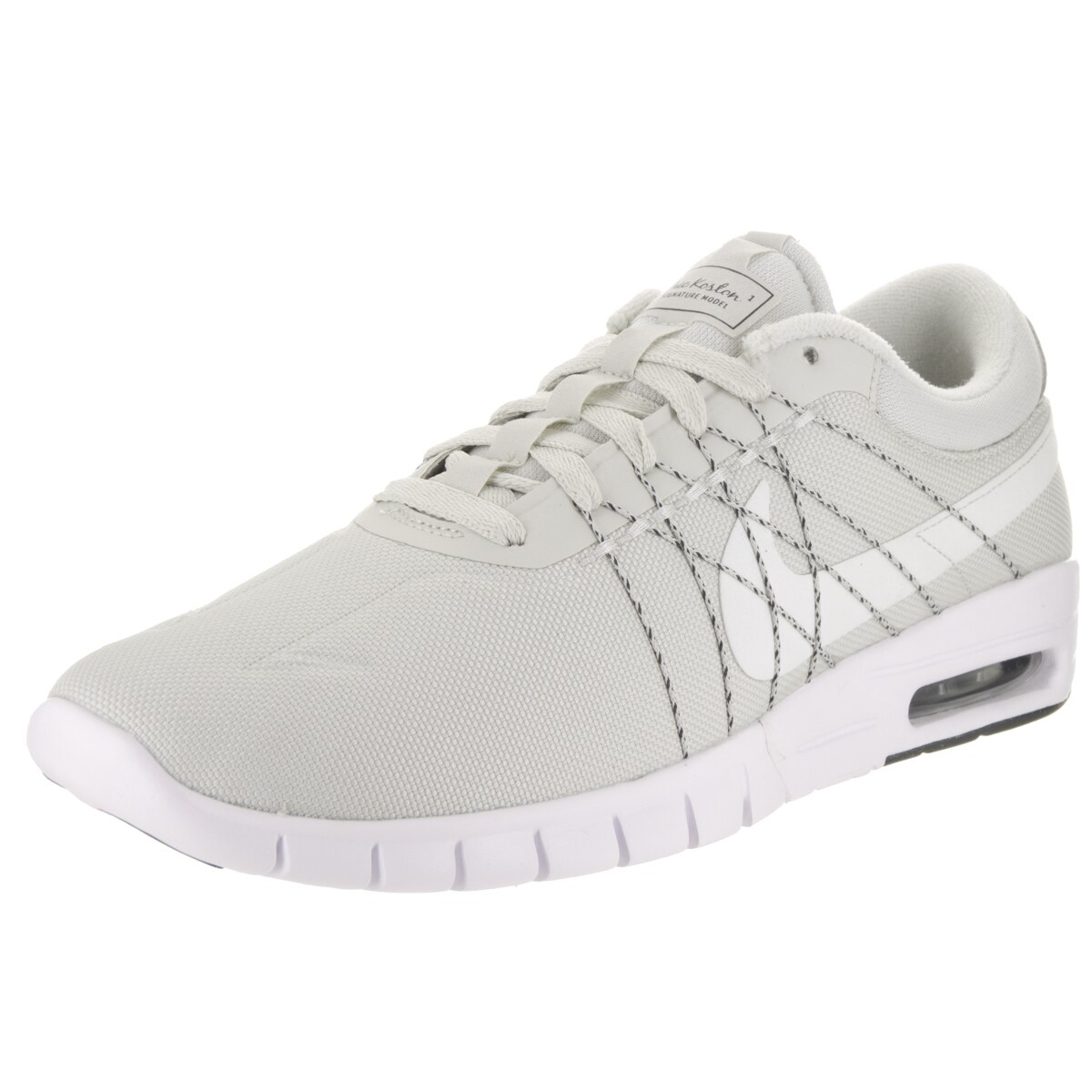 c0d1e7fdb56f Shop nike mens koston max white textile skate shoe free jpg 1200x1200 Koston  shoes