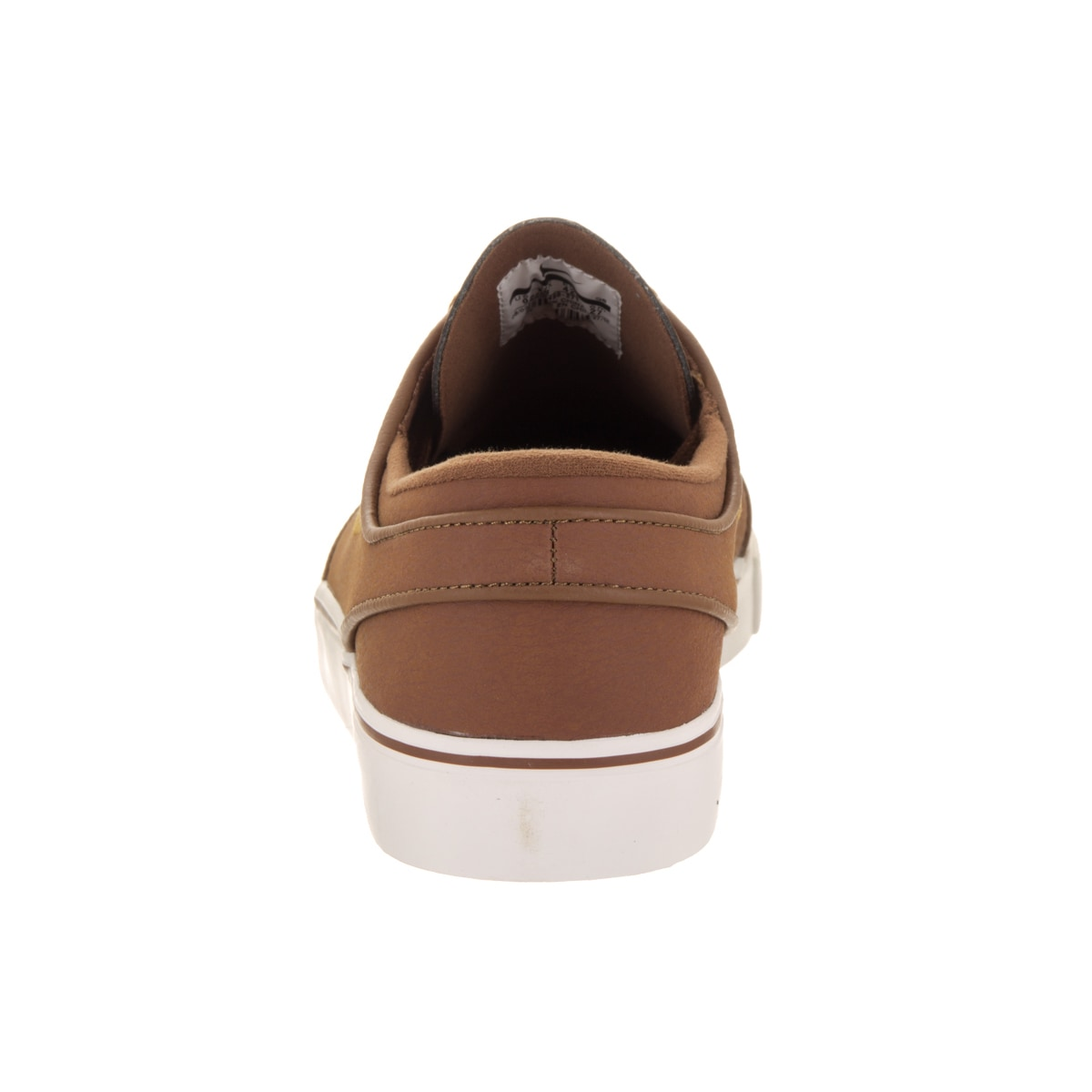 da83f8527c8 Shop Nike Men s Zoom Stefan Janoski L Brown Leather Skate Shoes - Free  Shipping Today - Overstock - 14084027