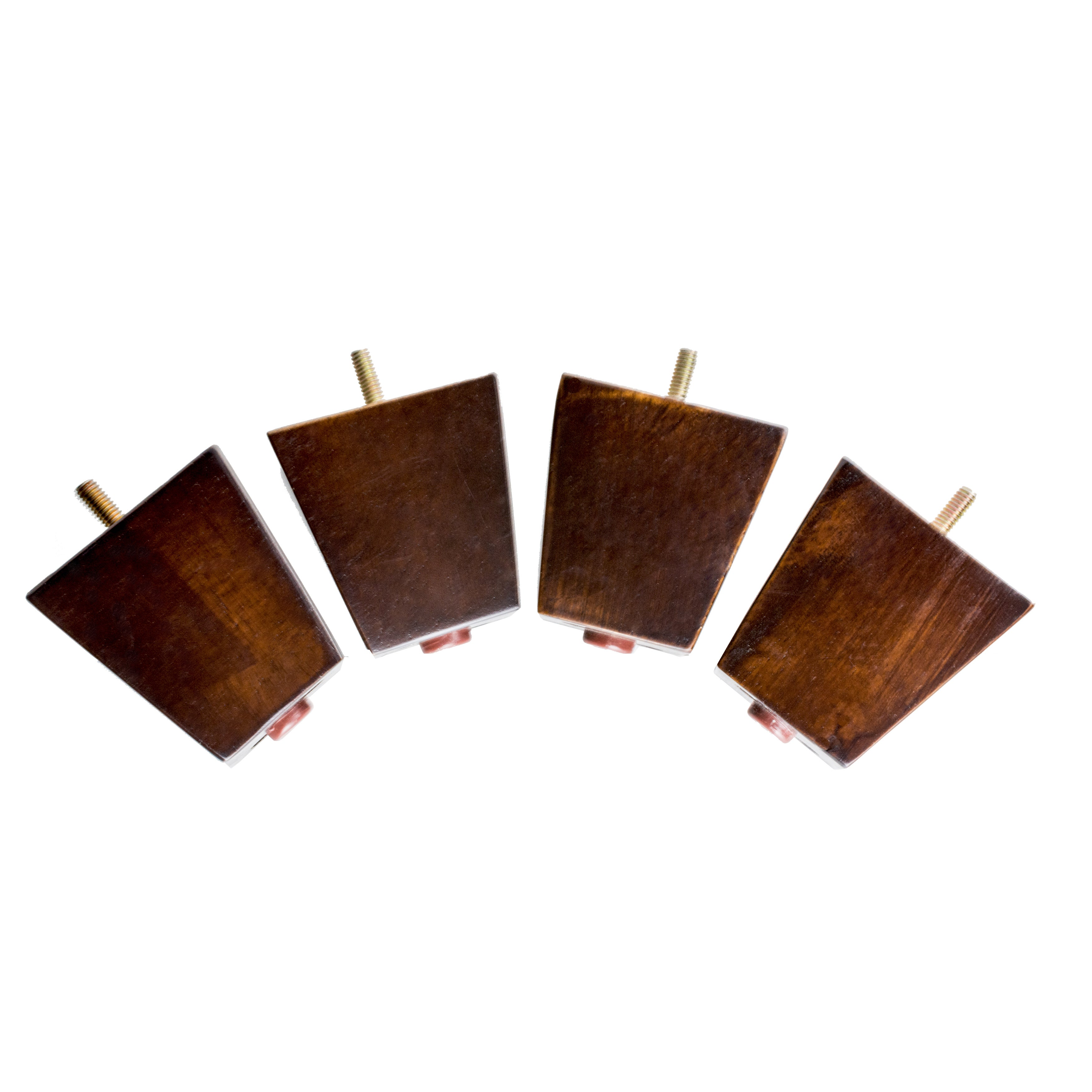 Shop MJL Furniture Designs Small 3 1/4 Inch Tall Block Wooden Furniture Feet  (Set Of 4)   On Sale   Free Shipping Today   Overstock.com   14084607